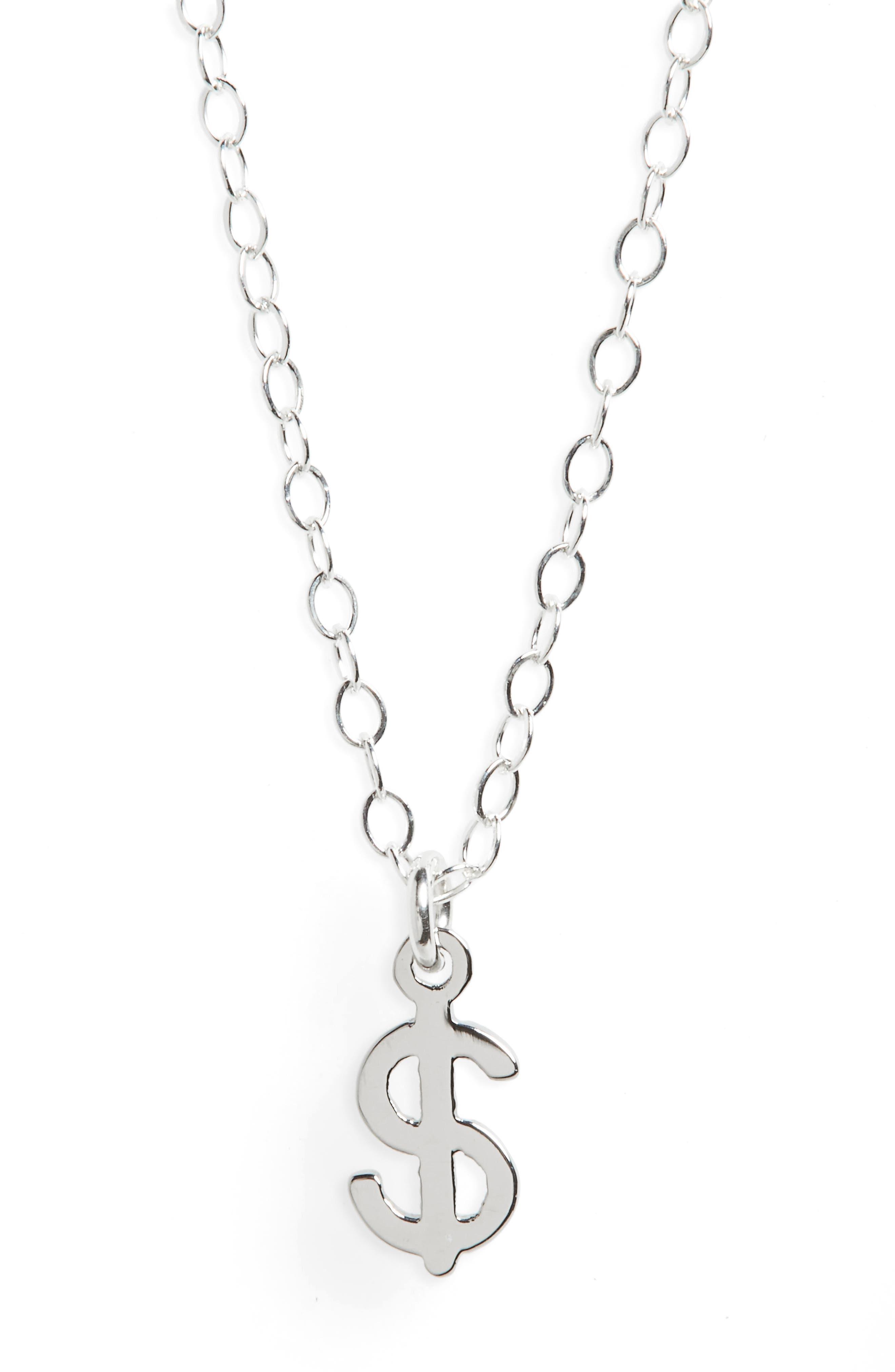Seoul Little Dollar Sign Necklace