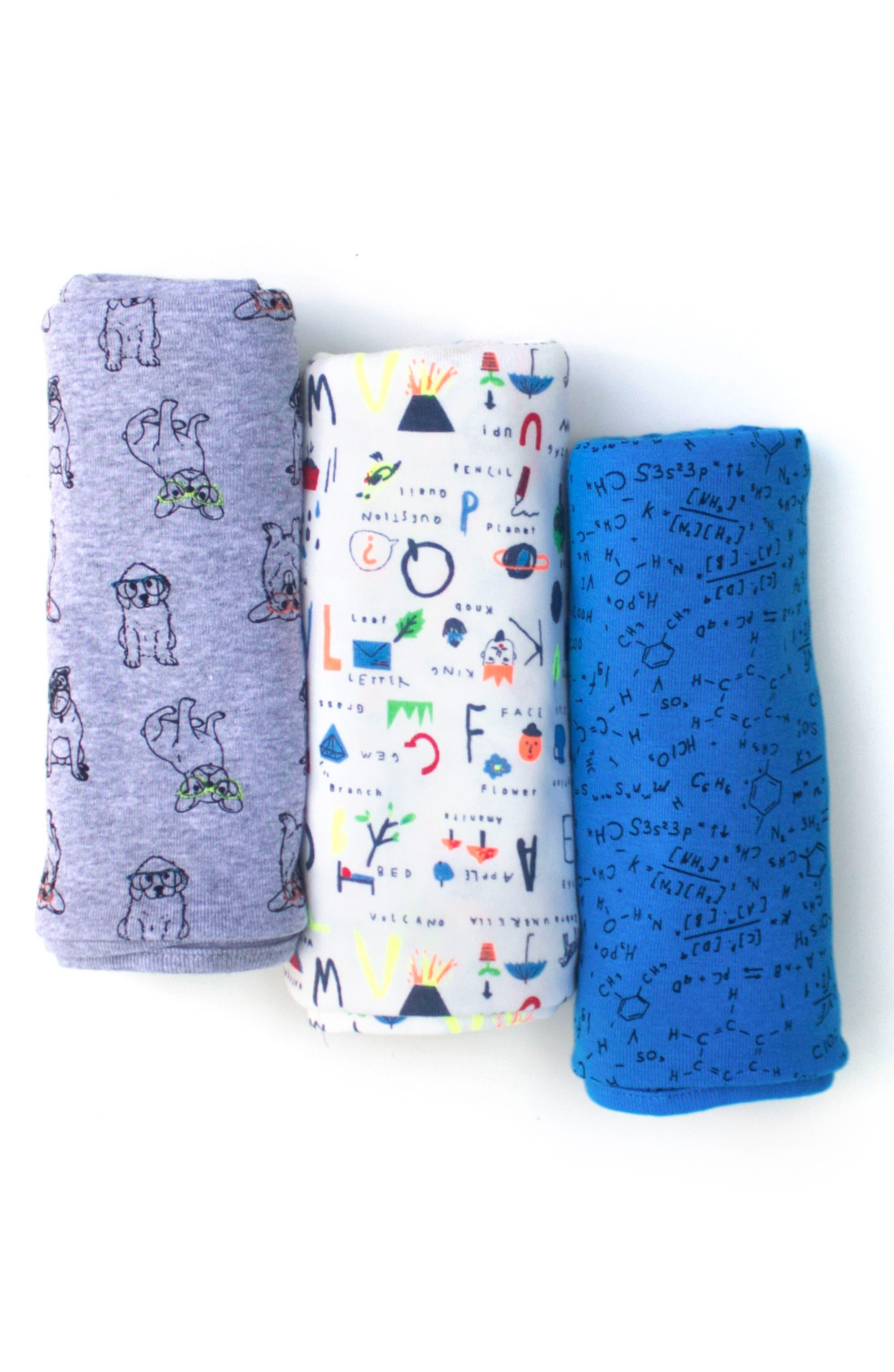 Rosie Pope 3-Pack Nerd Alert Blanket Set (Baby)