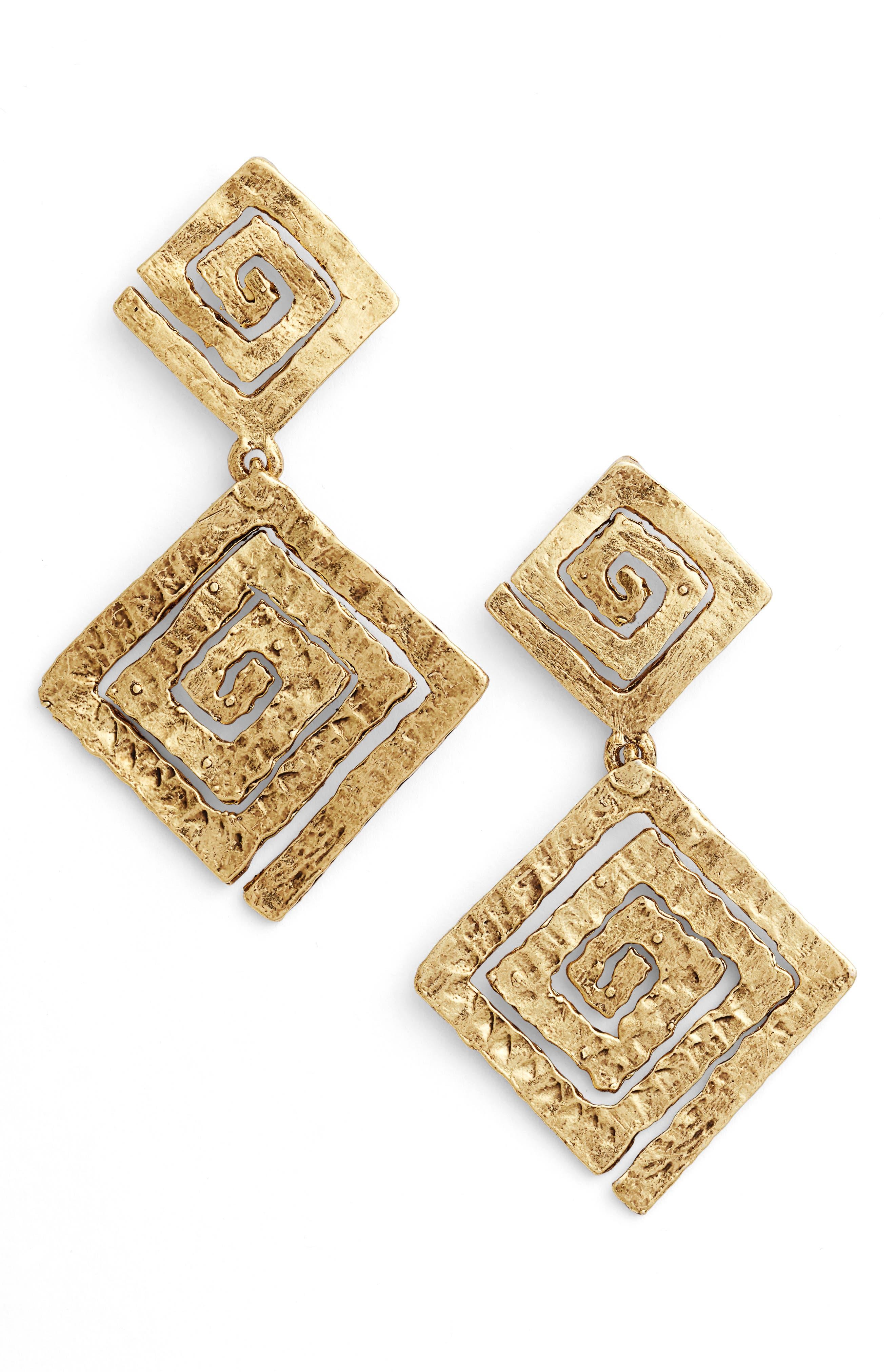 Karine Sultan Drop Earrings