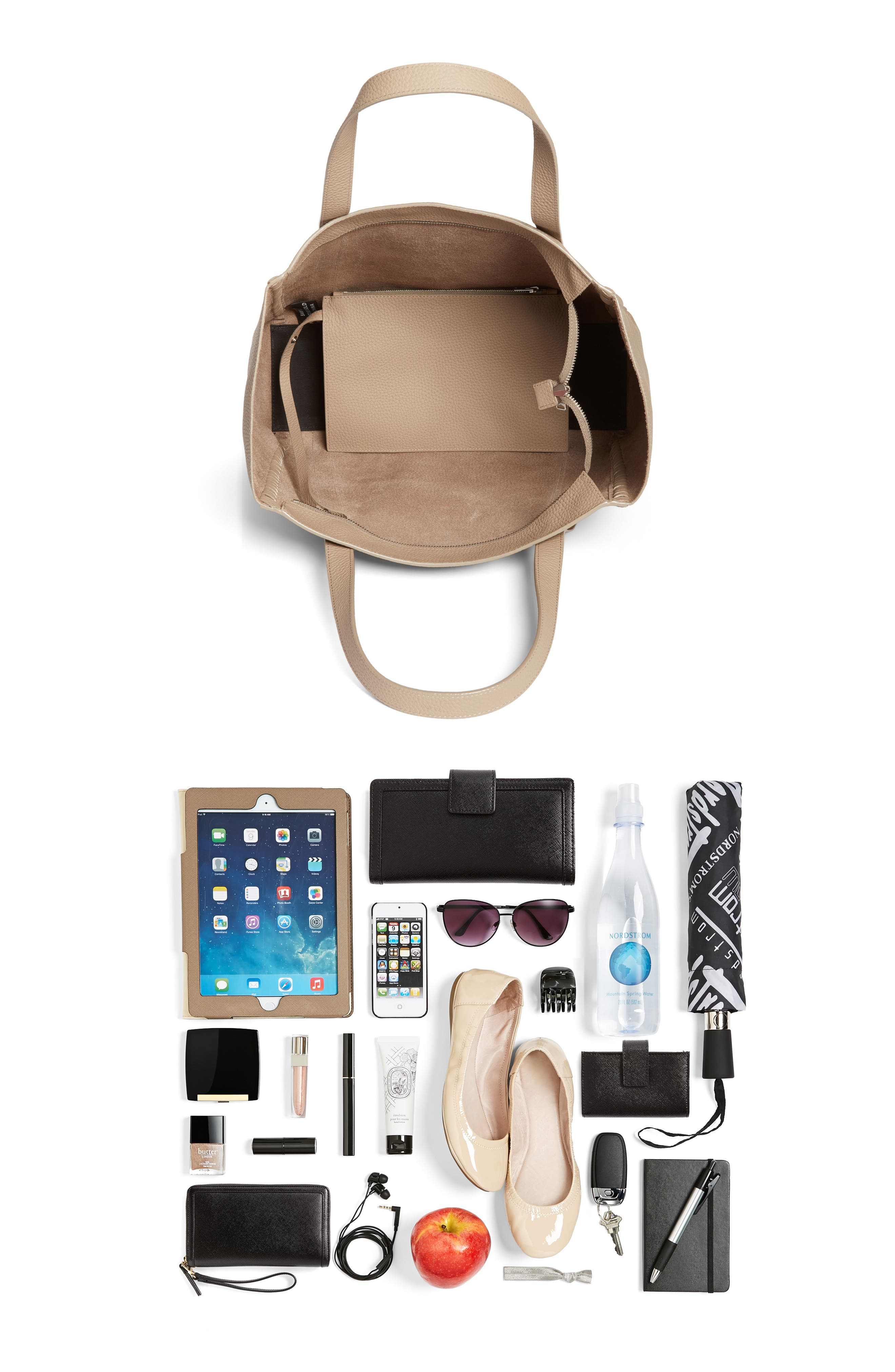 Alternate Image 7  - ALLSAINTS Raye Leather Tote (Nordstrom Exclusive)