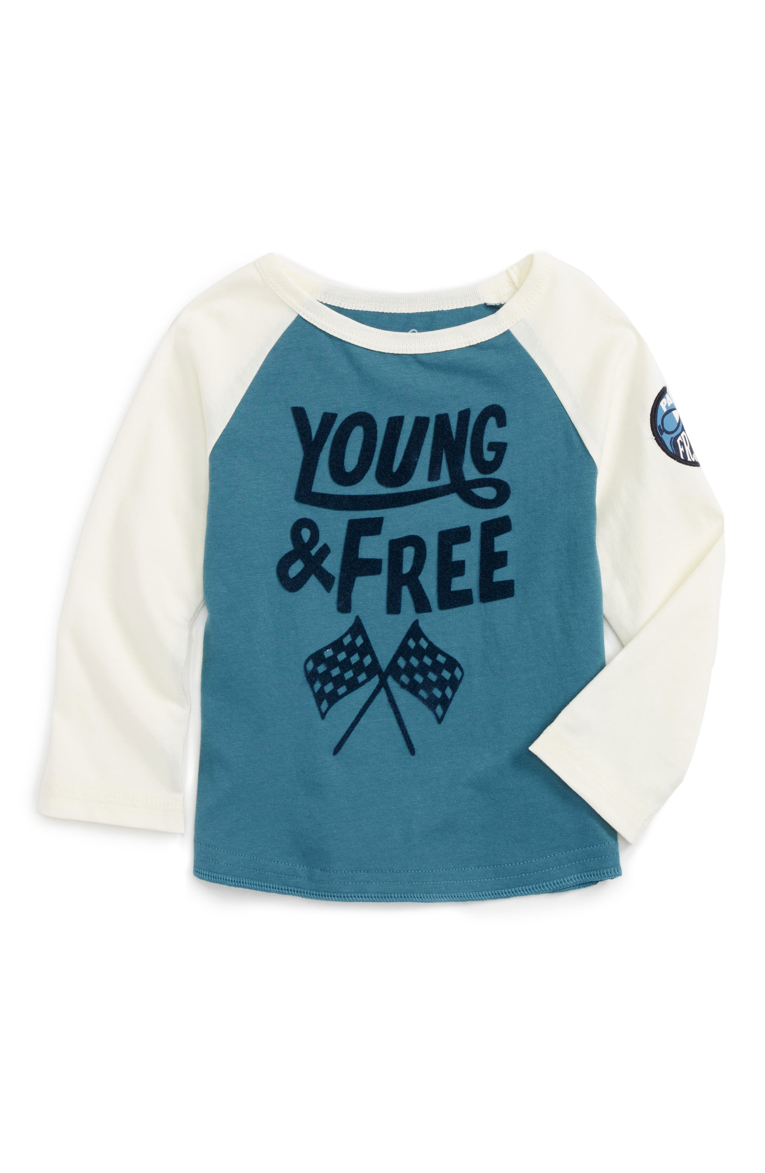 Peek Young & Free T-Shirt (Baby Boys)