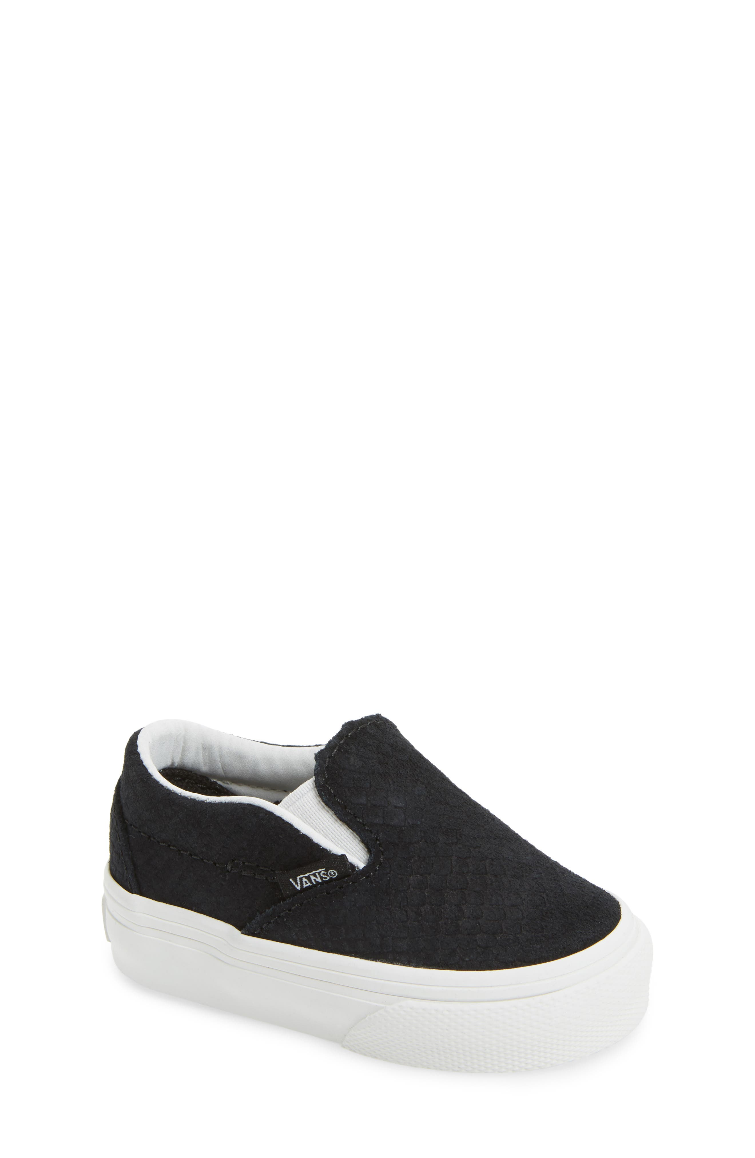 Vans Classic Slip-On Sneaker (Baby, Walker & Toddler)
