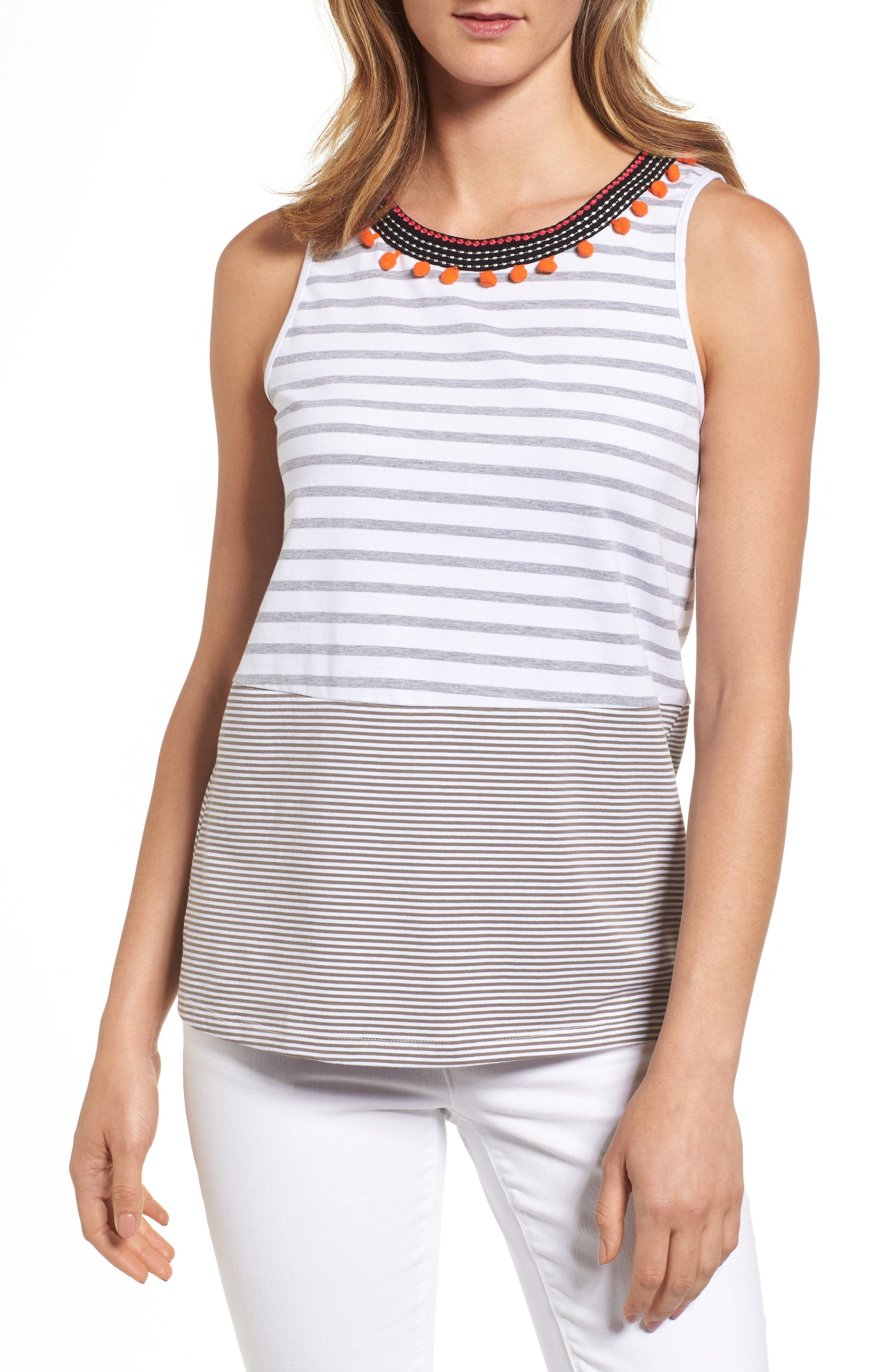 THML Mixed Stripe Top