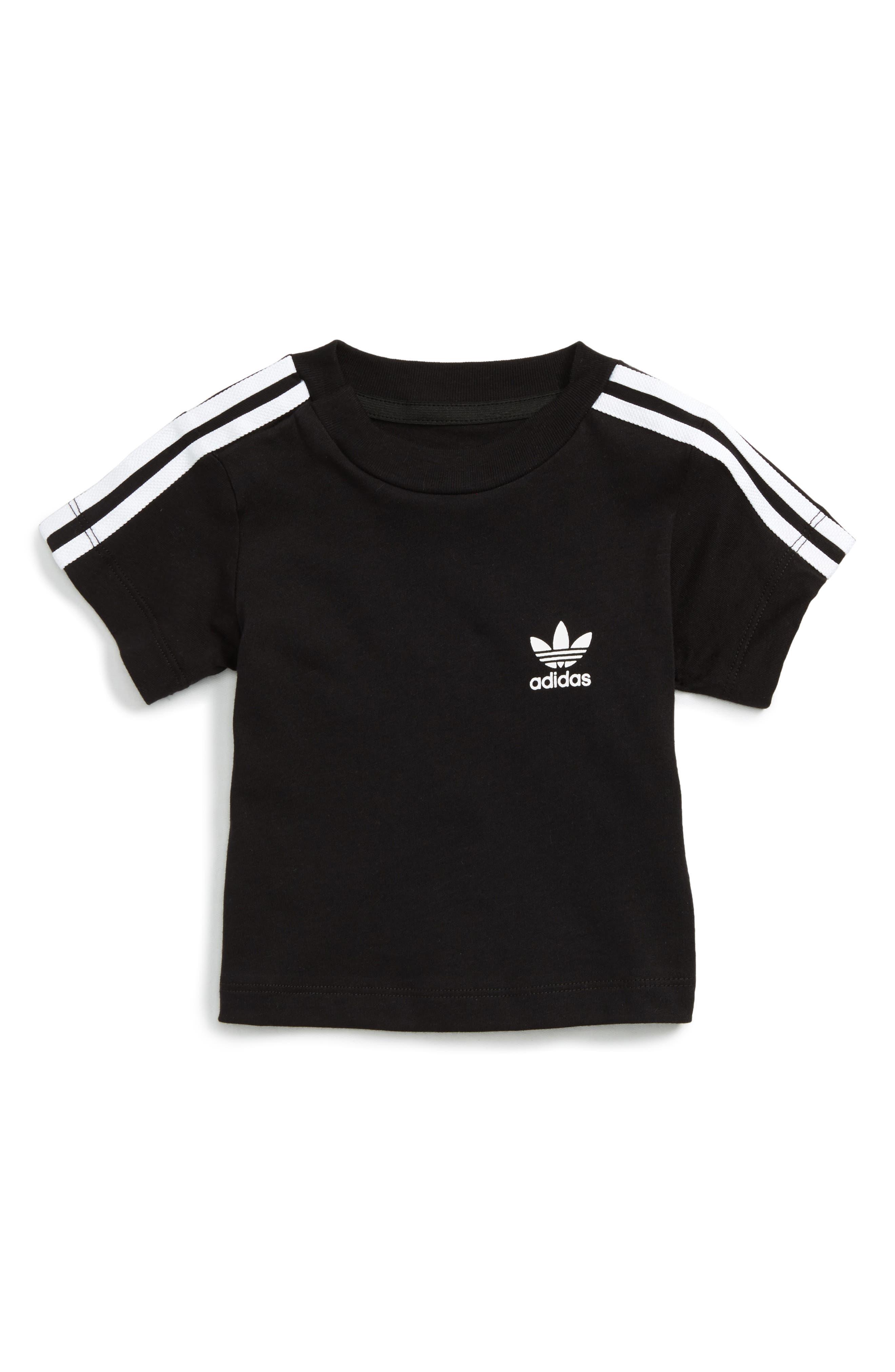 adidas Originals 3-Stripes T-Shirt (Baby Boys)