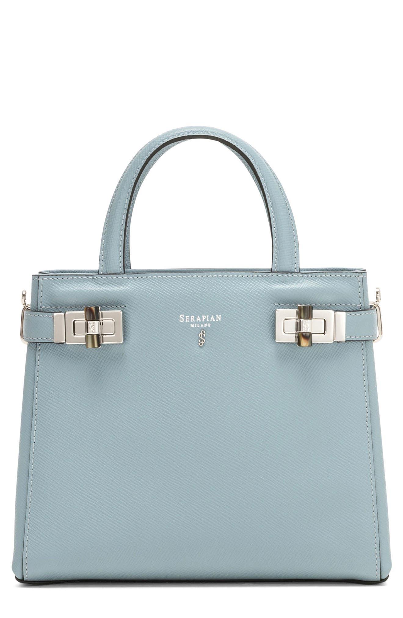 Serapian Milano Mini Meline Evolution Leather Bag