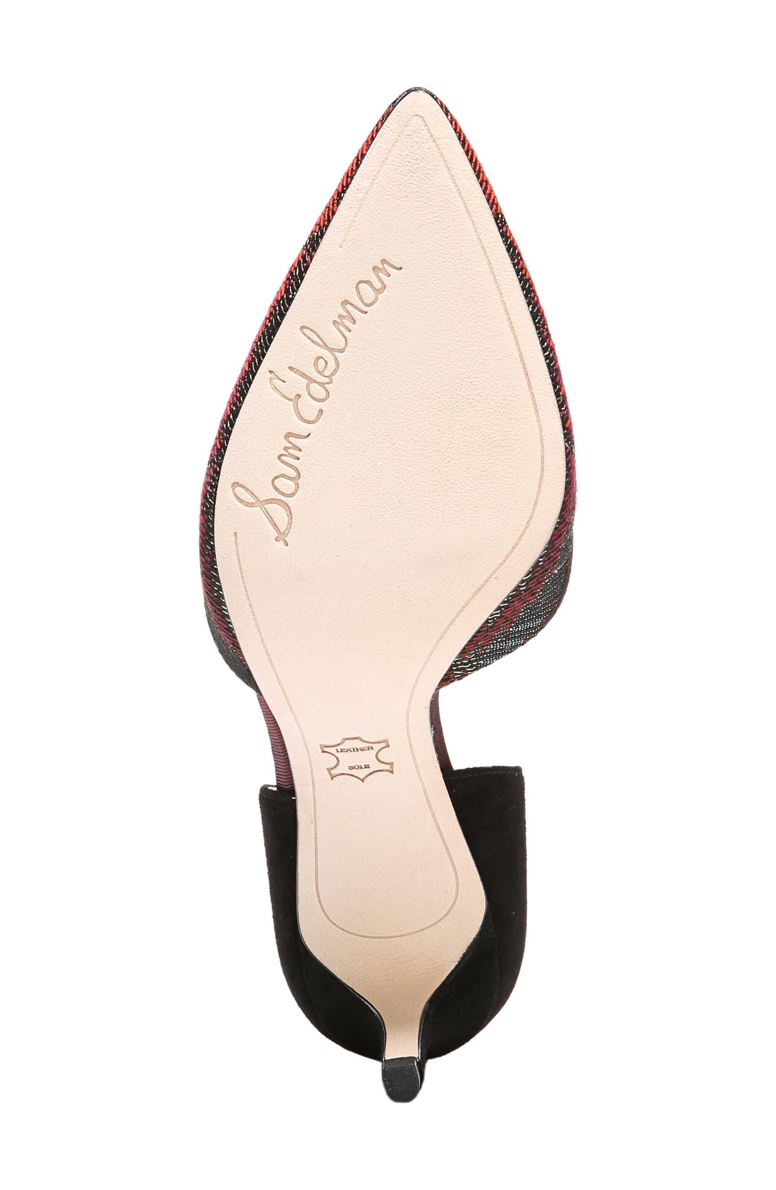 Alternate Image 6  - Sam Edelman 'Telsa' d'Orsay Pointy Toe Pump (Women)