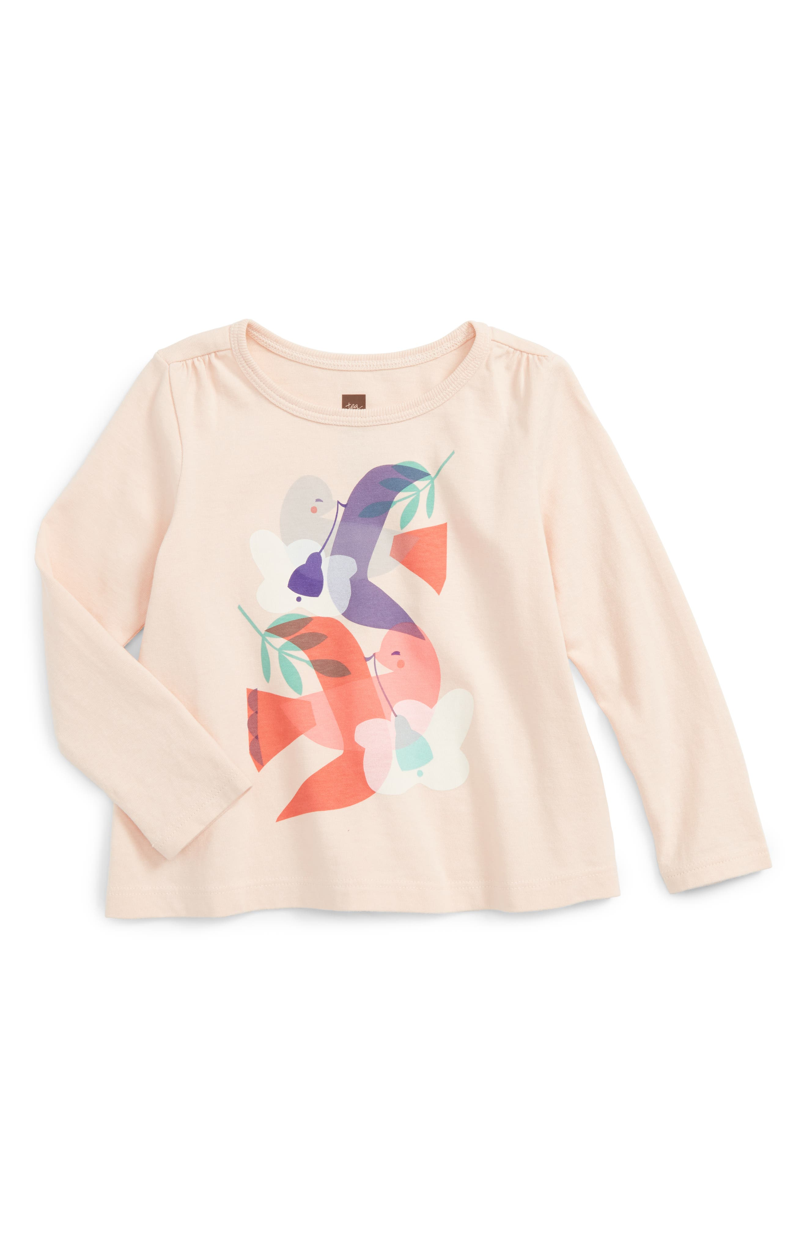 Tea Collection Eun Graphic Tee (Baby Girls)