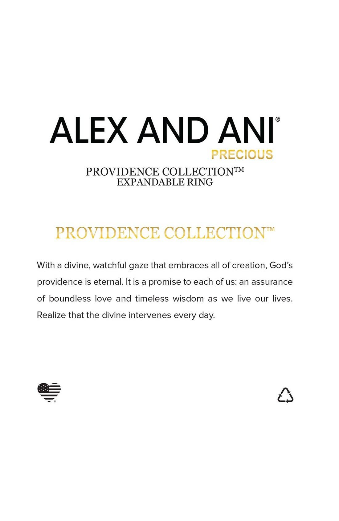 Alternate Image 2  - Alex and Ani 'Providence' Feather Pull Chain Bracelet