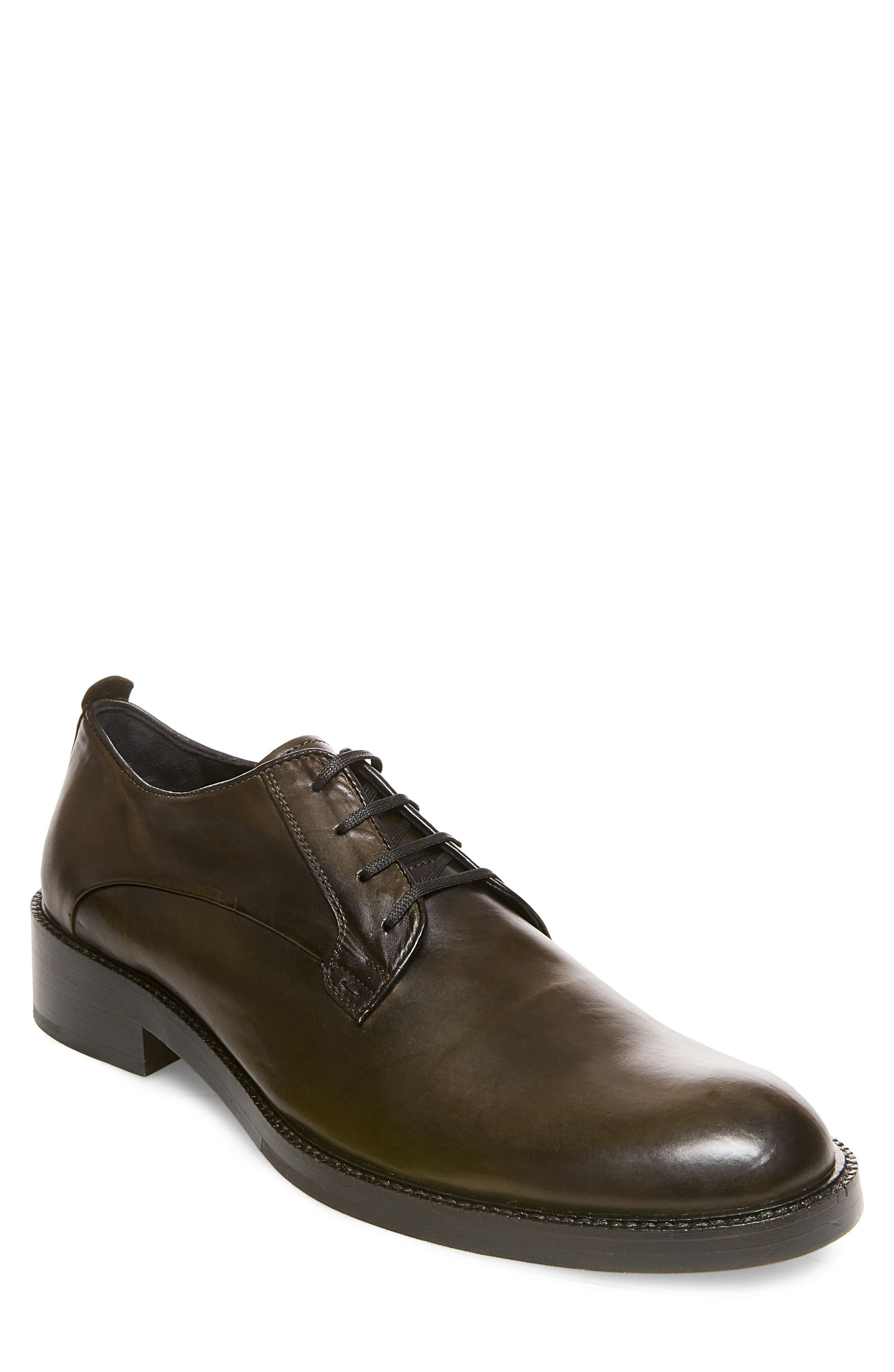 Steve Madden x GQ Nelson Plain Toe Derby (Men)