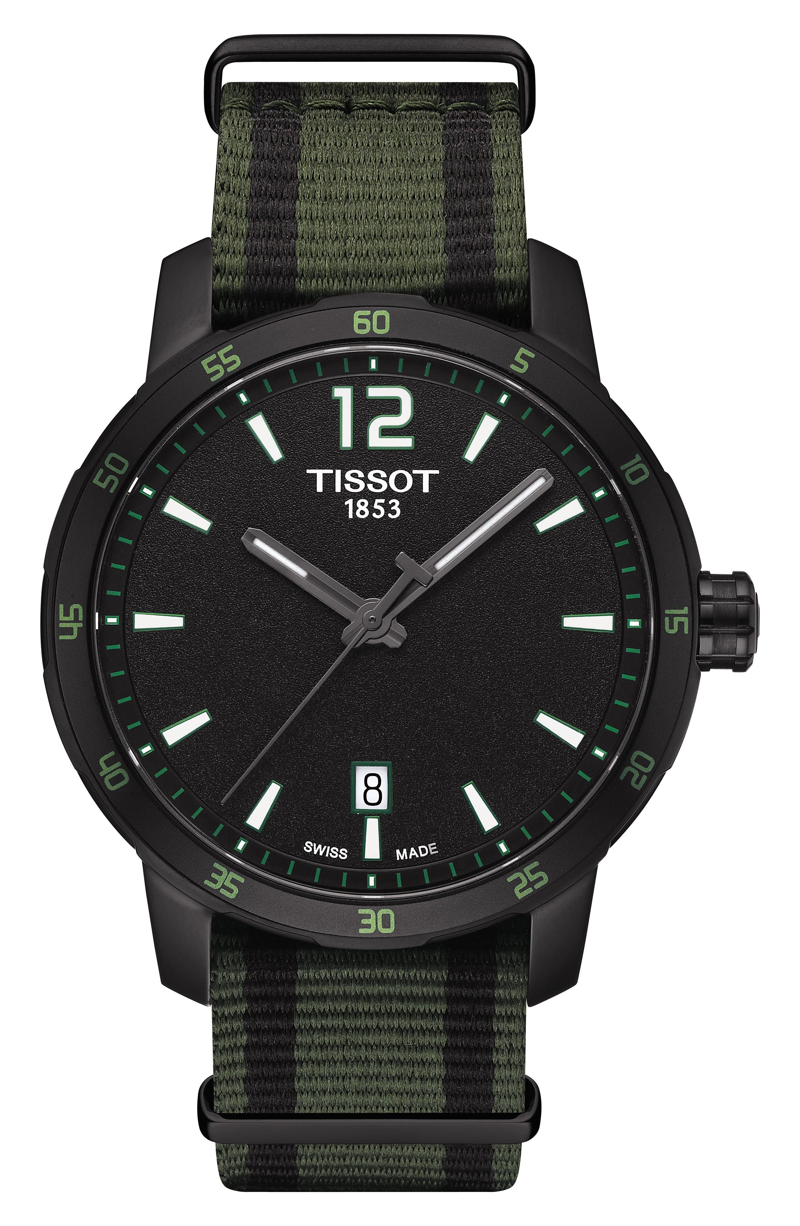 Tissot Quickster NATO Strap Watch, 40mm