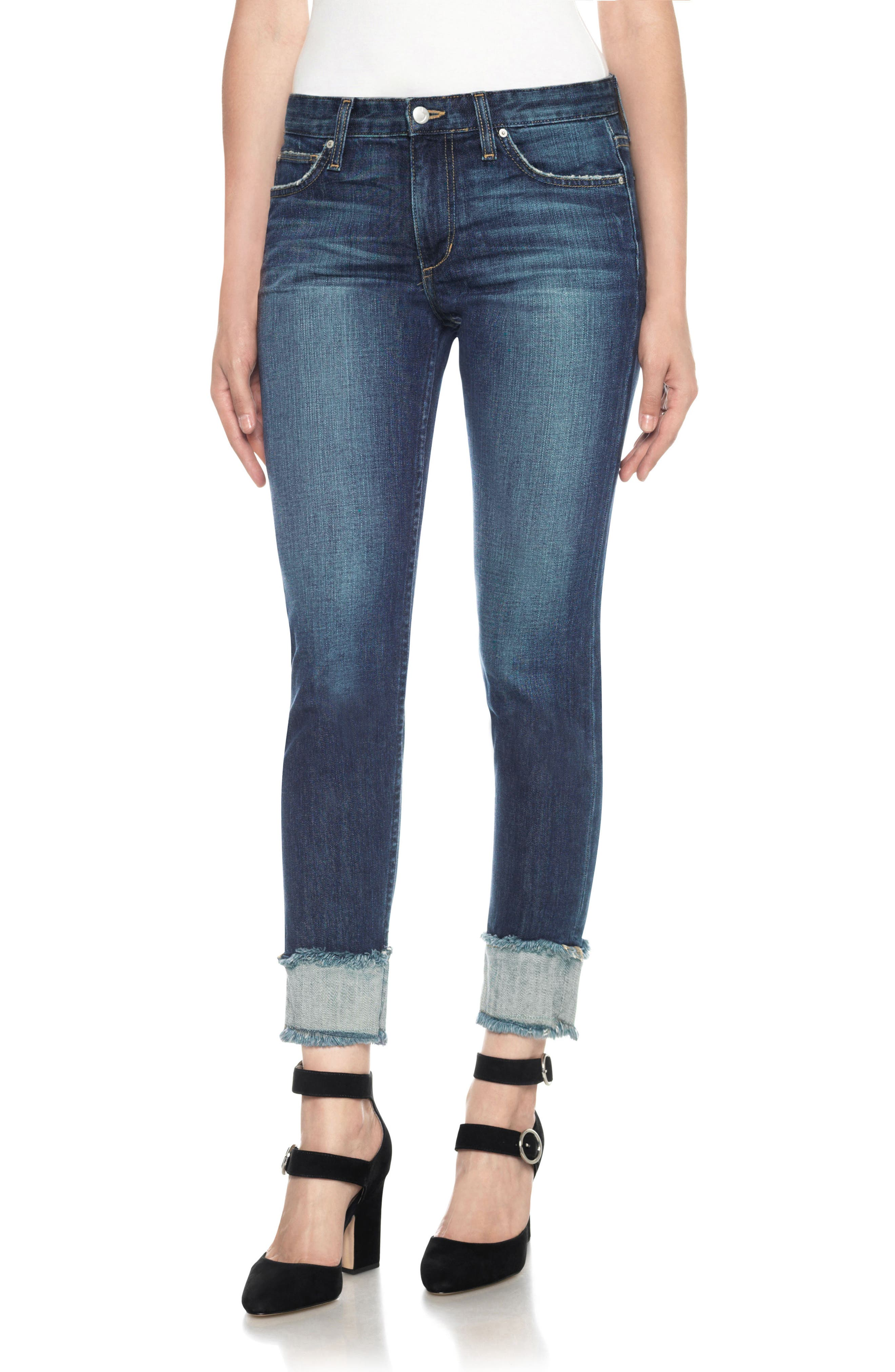 Joe's Smith Crop Boyfriend Jeans (Lark)