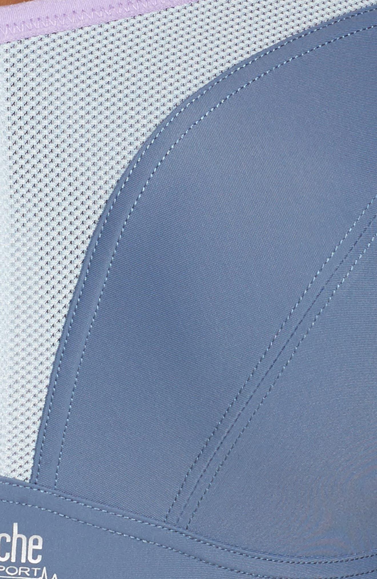 Alternate Image 6  - Panache Underwire Sports Bra (Regular & Plus Size)