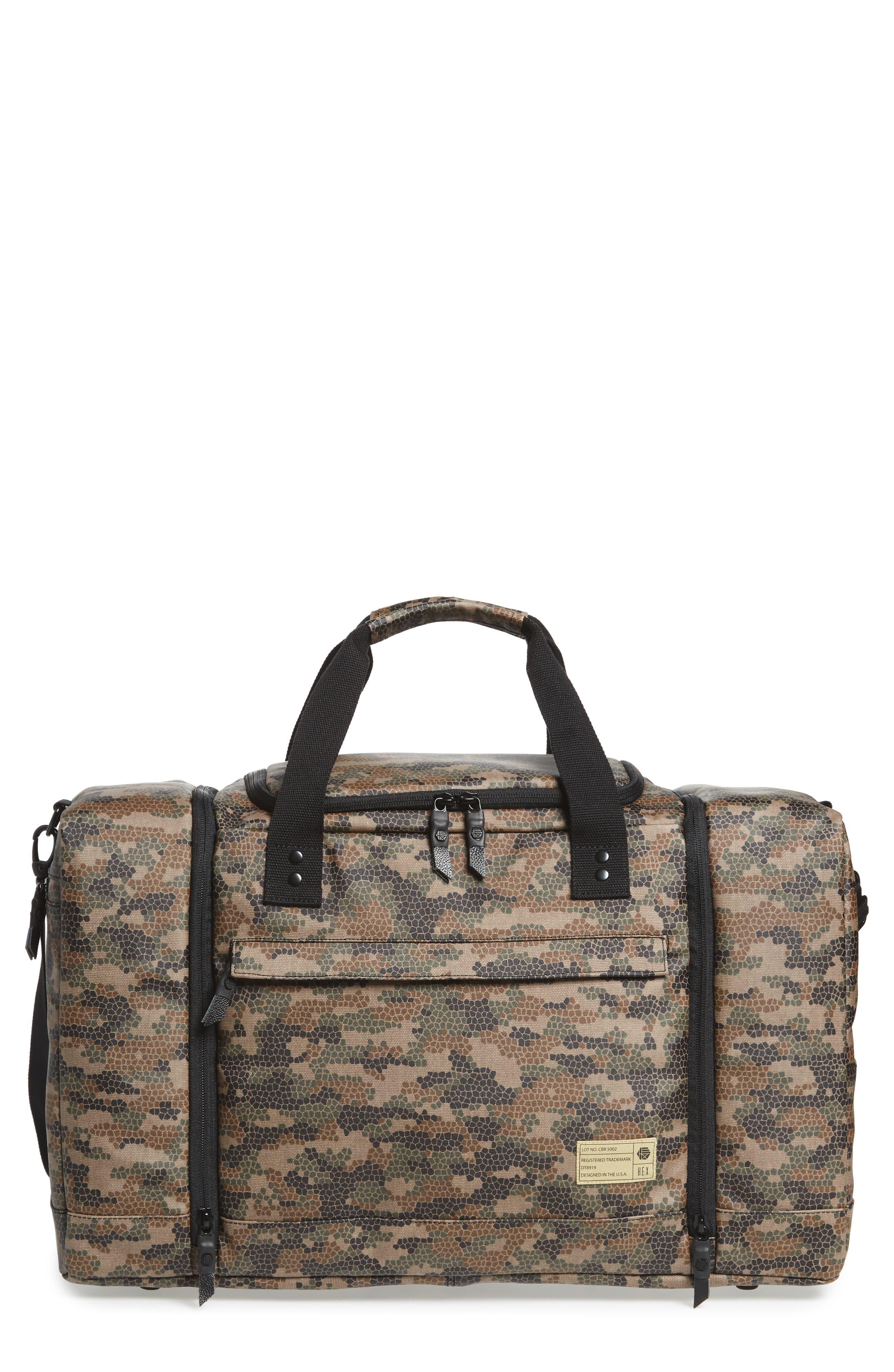 HEX 'Calibre' Sneaker Duffel Bag