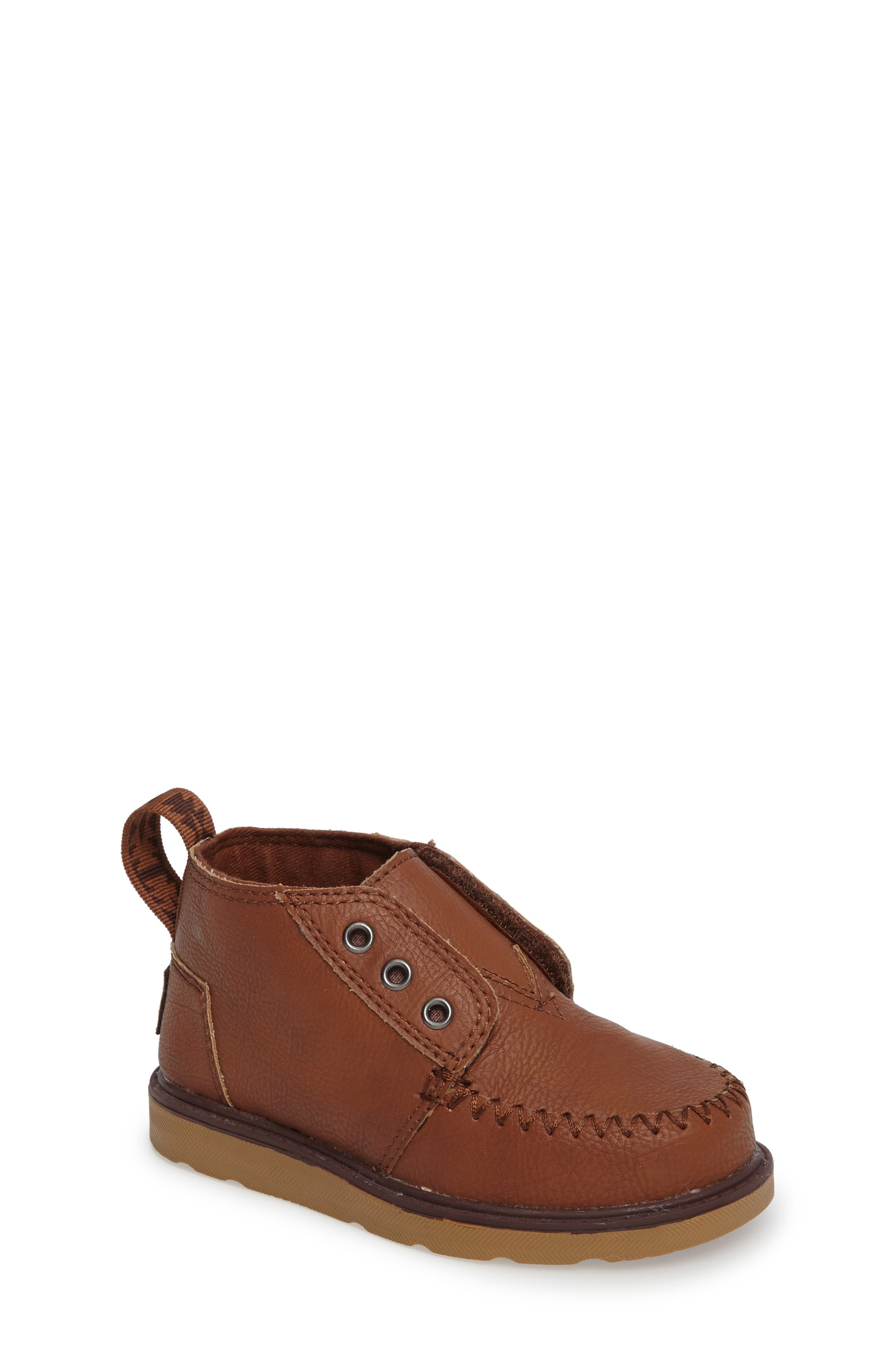 Alternate Image 1 Selected - TOMS Chukka Boot (Baby, Walker & Toddler)