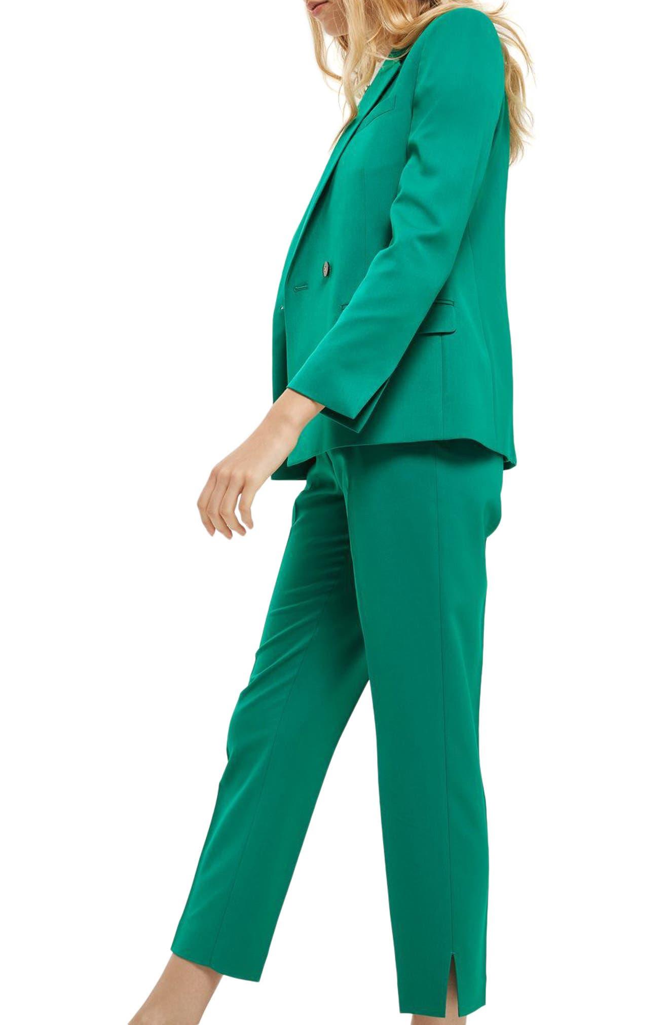 Alternate Image 3  - Topshop Tailored Cigarette Trousers (Regular & Petite)