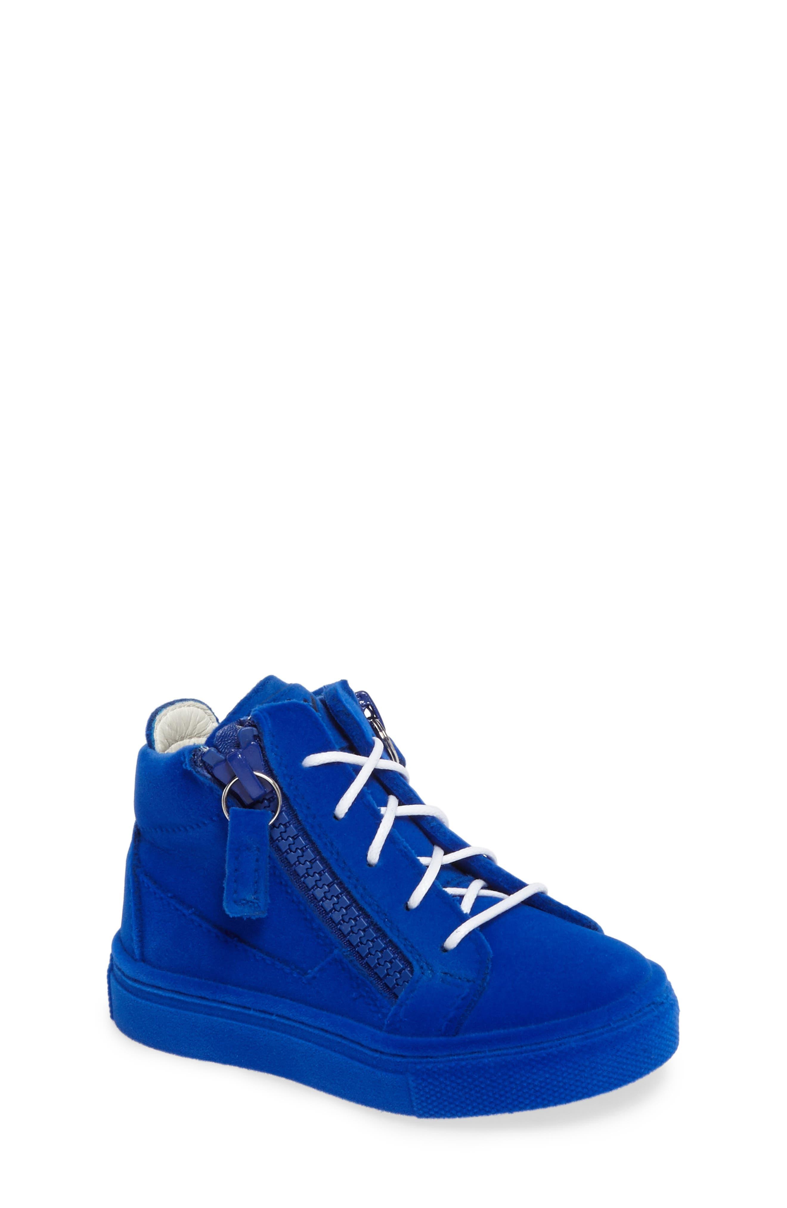 Giuseppe Zanotti Smuggy Sneaker (Baby, Walker, Toddler & Little Kid)
