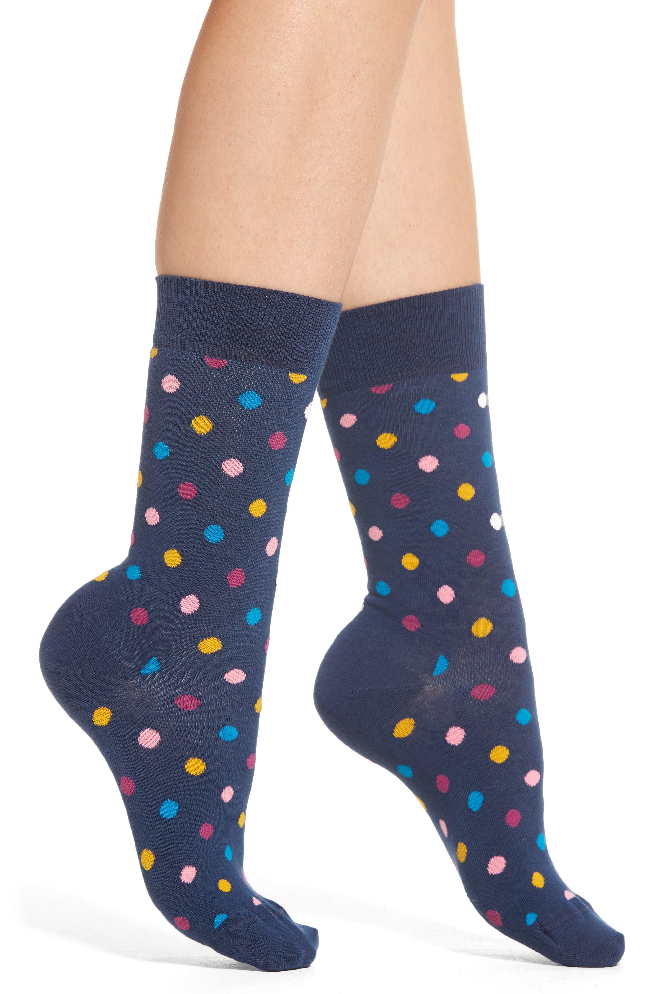 Happy Socks Dot Crew Socks (3 for $24)