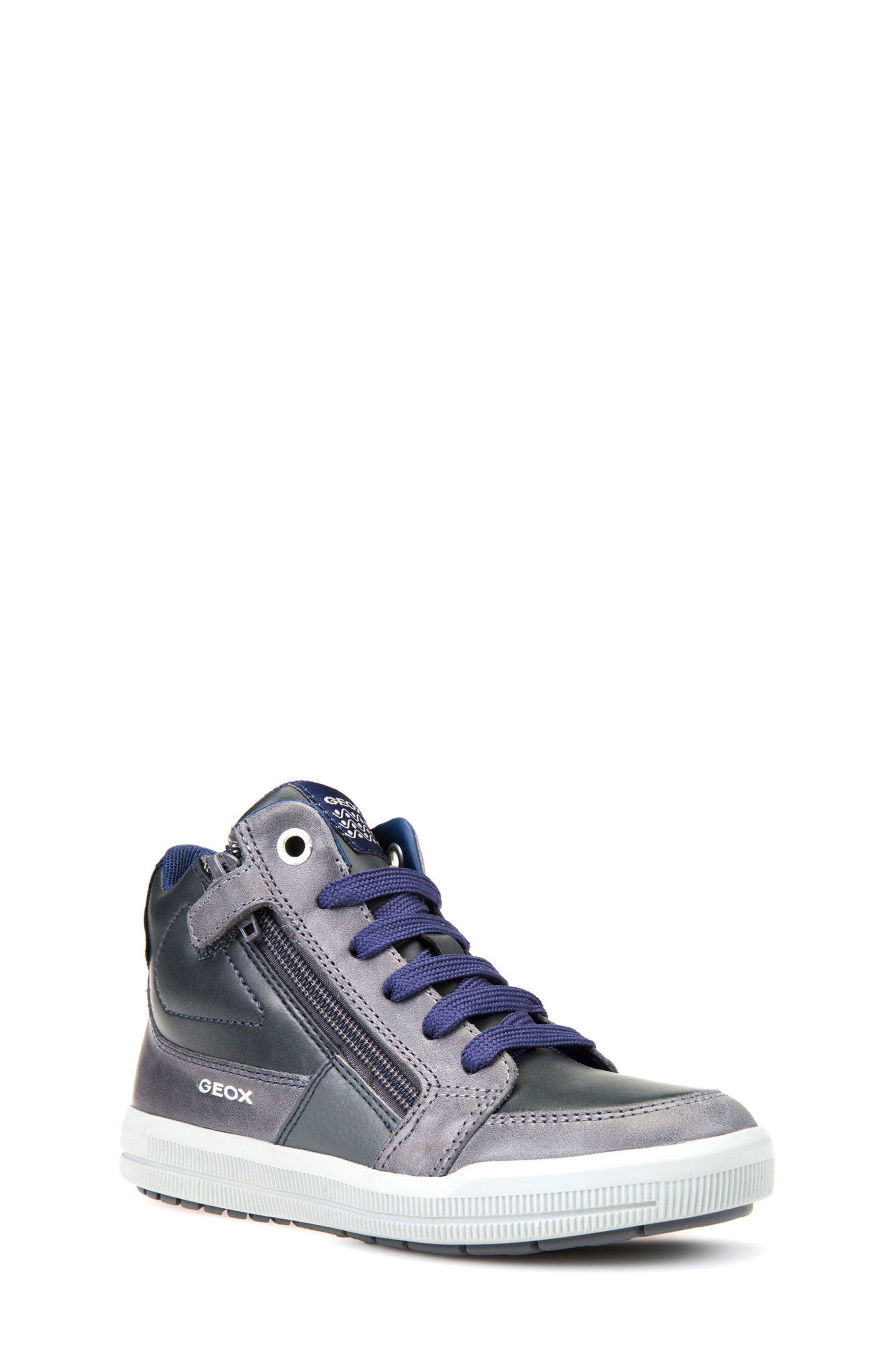 Geox Arzach High Top Sneaker (Toddler, Little Kid & Big Kid)