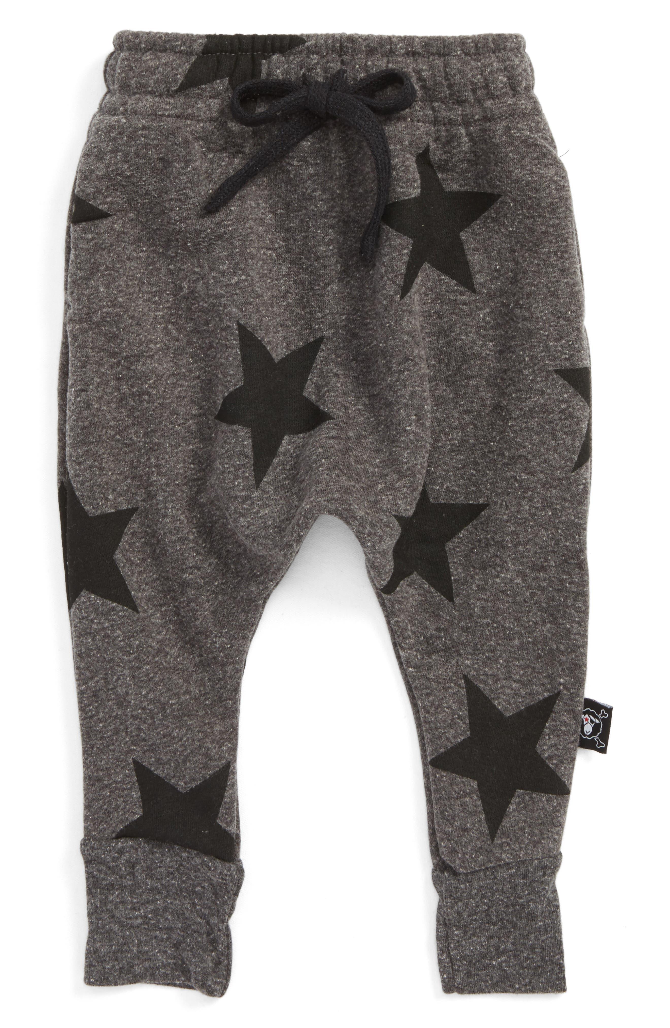 NUNUNU Star Print Baggy Pants (Baby)