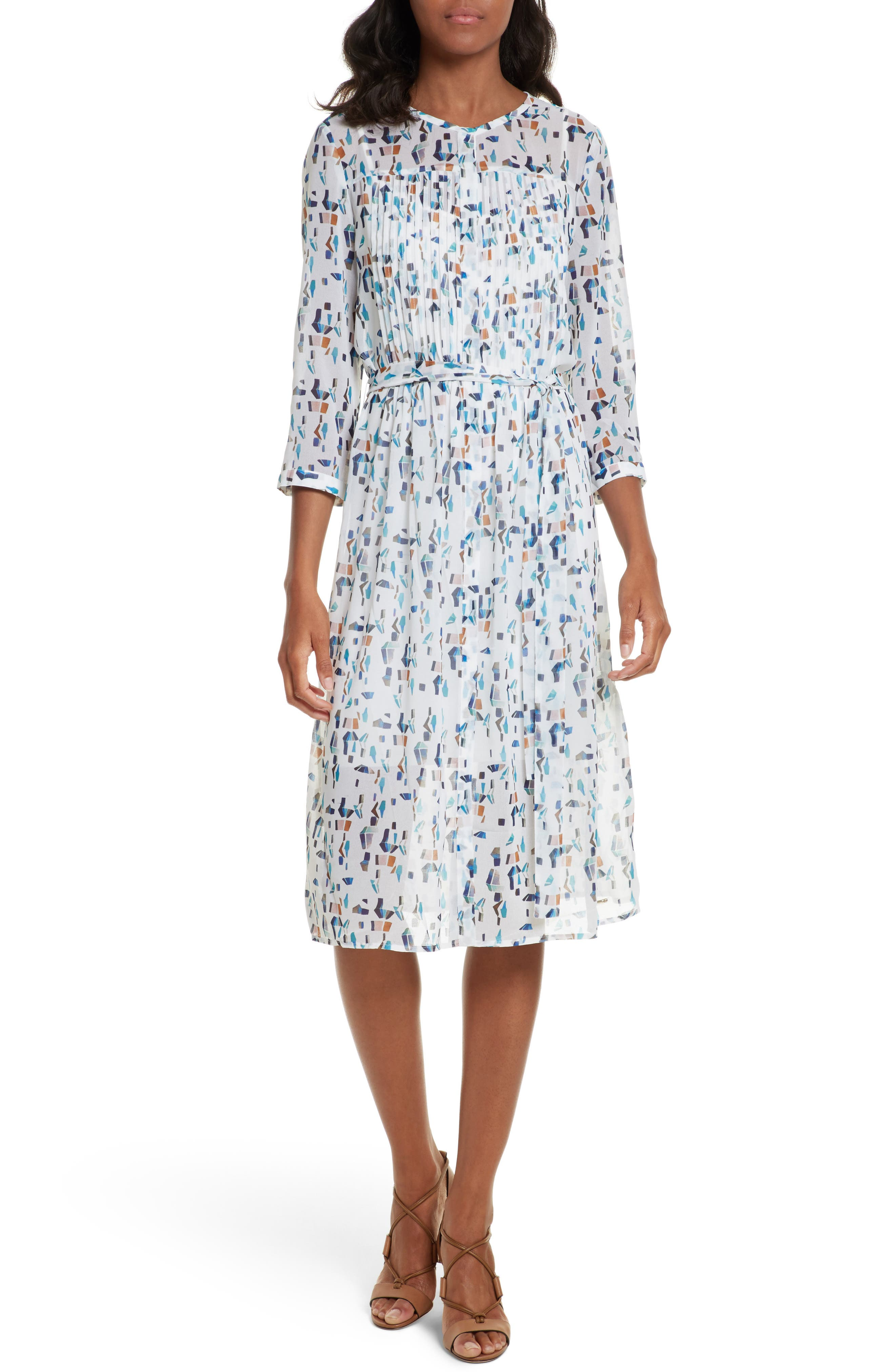 Ted Baker London Teca Print Shirtdress