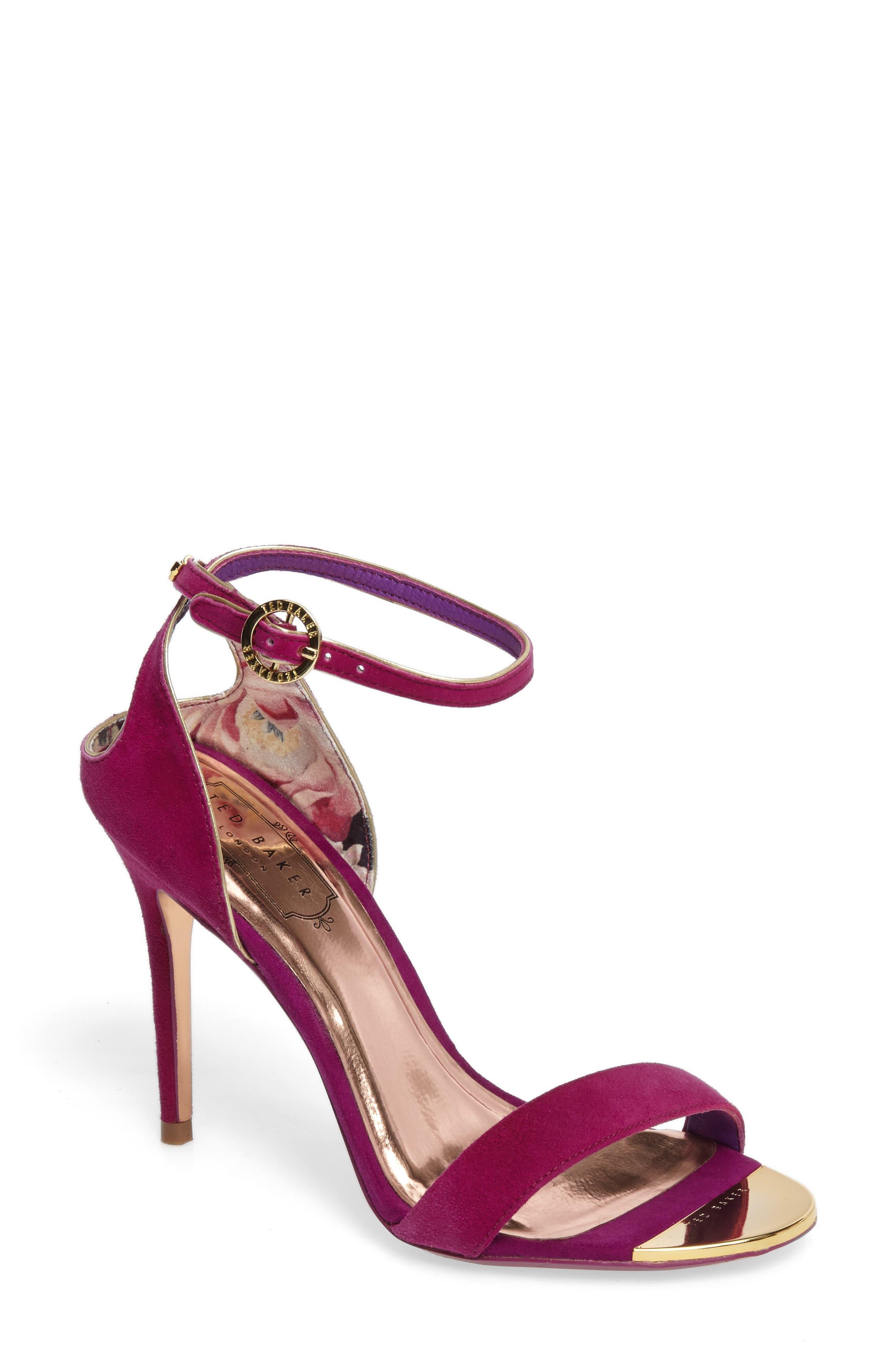 Ted Baker London Mirobell Ankle Strap Sandal (Women)