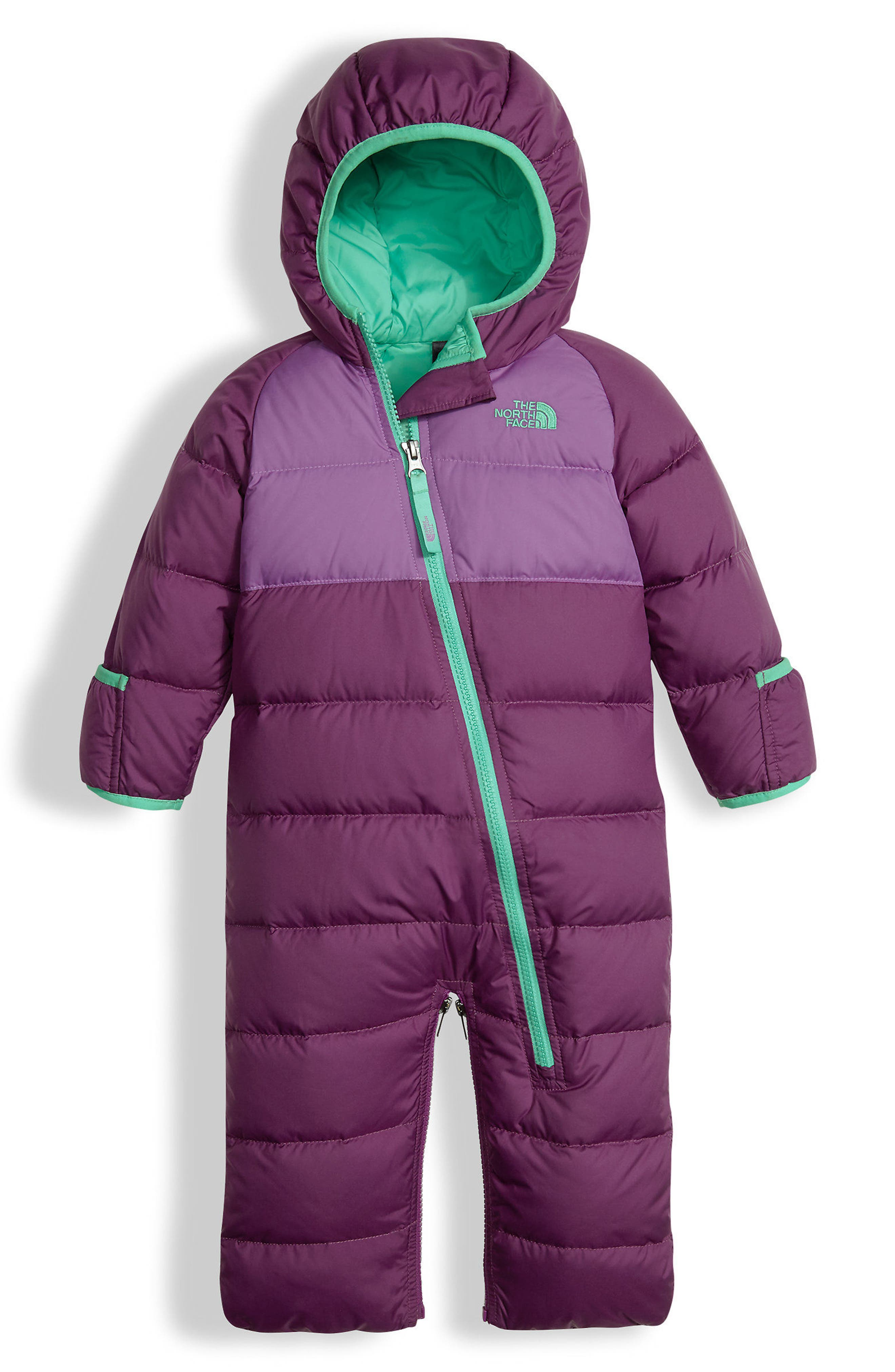 The North Face Lil' Snuggler Water Resistant Down Bunting (Baby Girls)