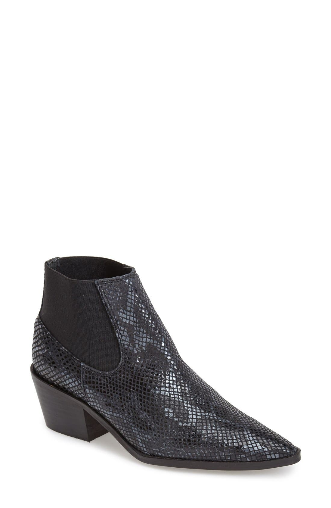 Main Image - Topshop 'Marr' Pointy Toe Chelsea Boot (Women)