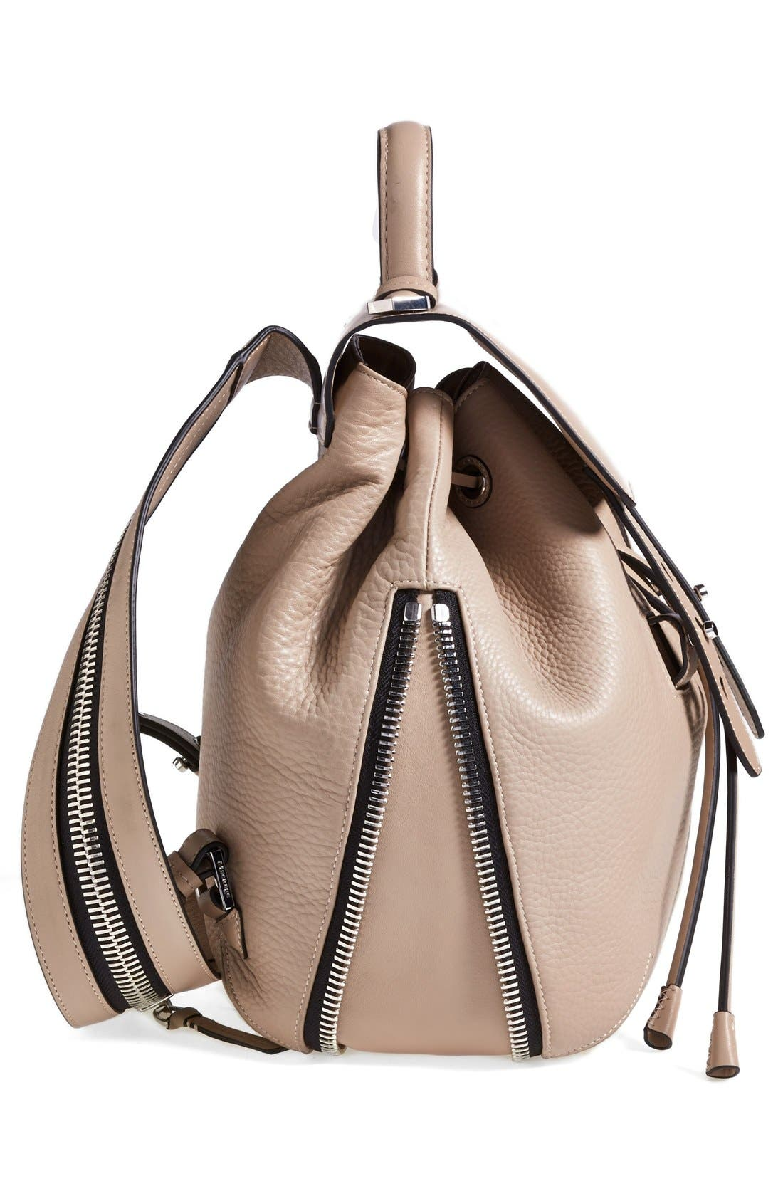 Alternate Image 5  - Mackage 'Bane' Convertible Leather Backpack