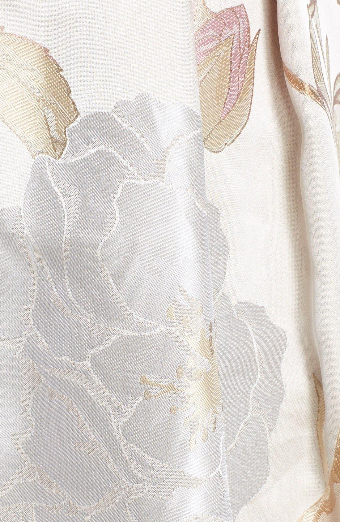 Alternate Image 4  - Eliza J Embellished Jacquard Fit & Flare Dress