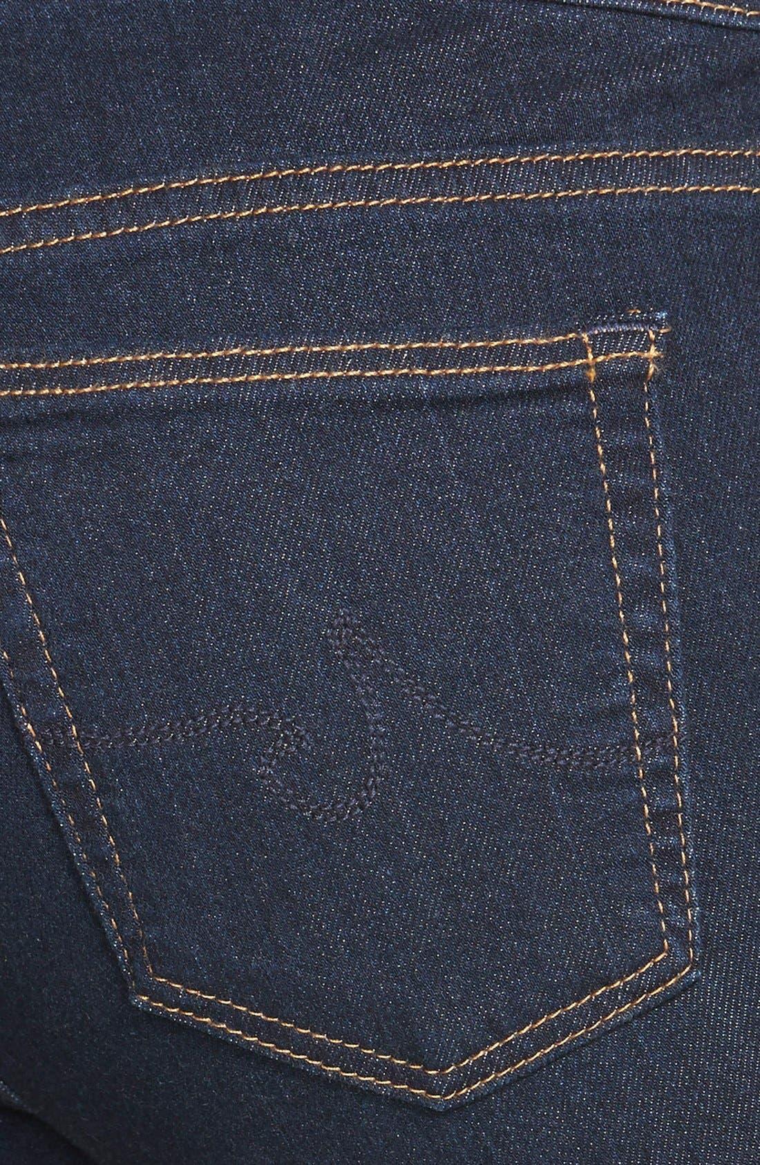 Alternate Image 3  - AG Jeans Super Skinny Stretch Jeans (Delight)
