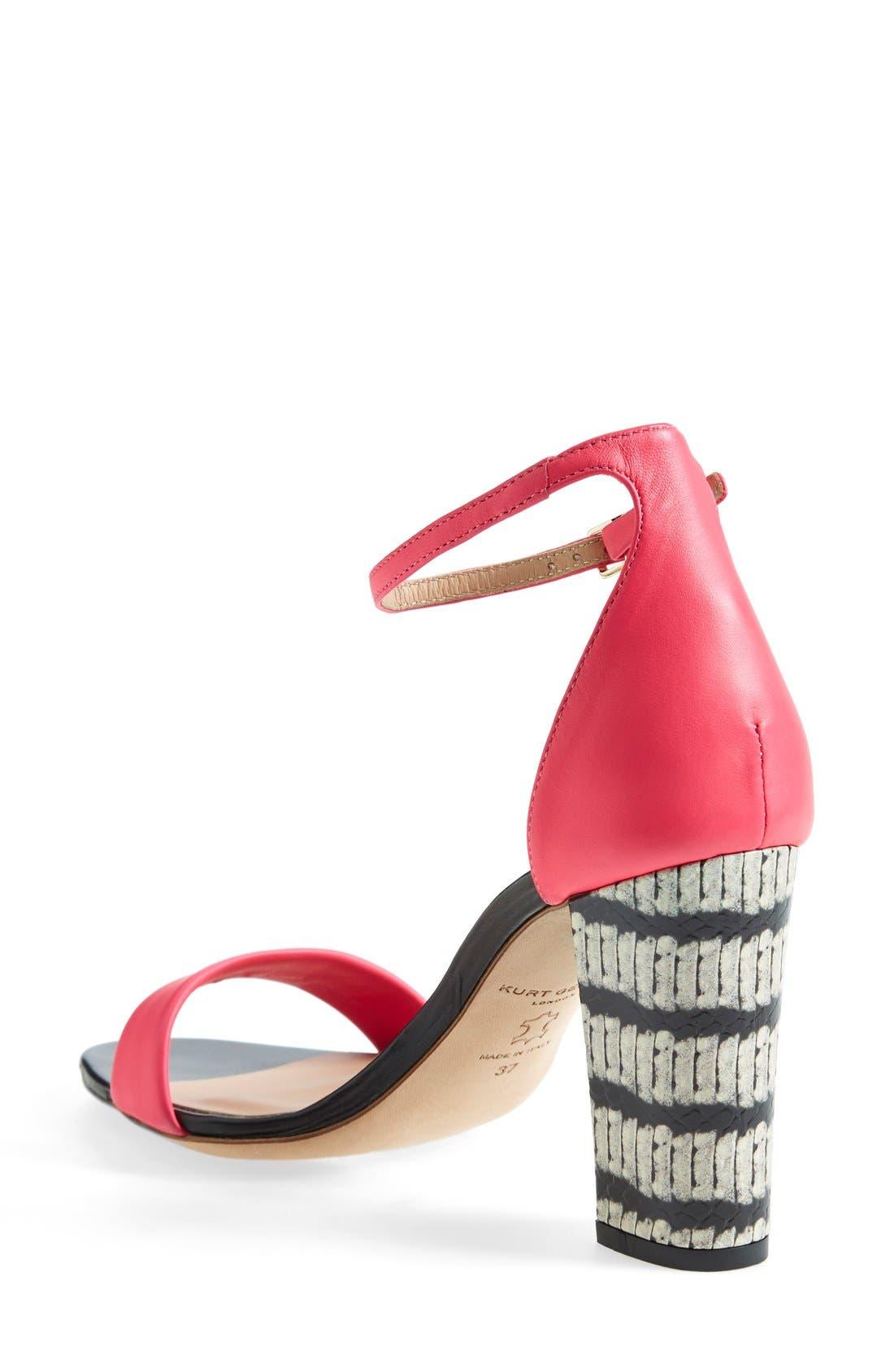 Alternate Image 2  - Kurt Geiger London 'Isabella' Ankle Strap Sandal (Women)
