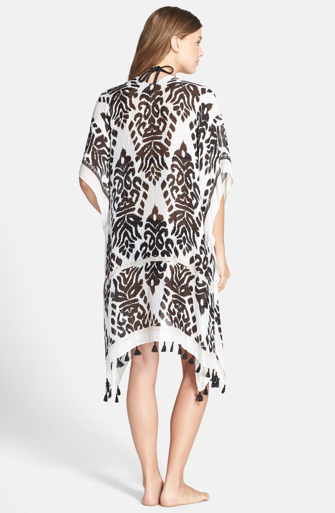 Alternate Image 2  - Nordstrom Fringed Swim Cover-Up