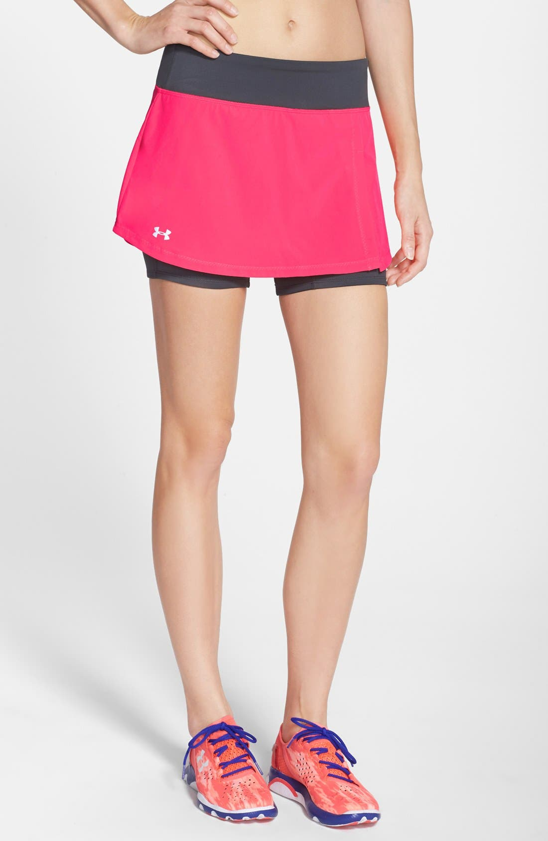 Alternate Image 1 Selected - Under Armour 'Get Set Go' Skort