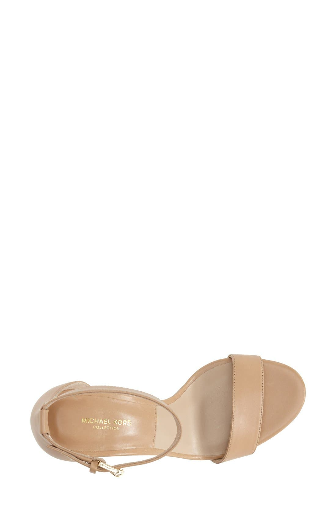 Alternate Image 7  - KORS Michael Kors 'Suri' Leather Sandal (Women)