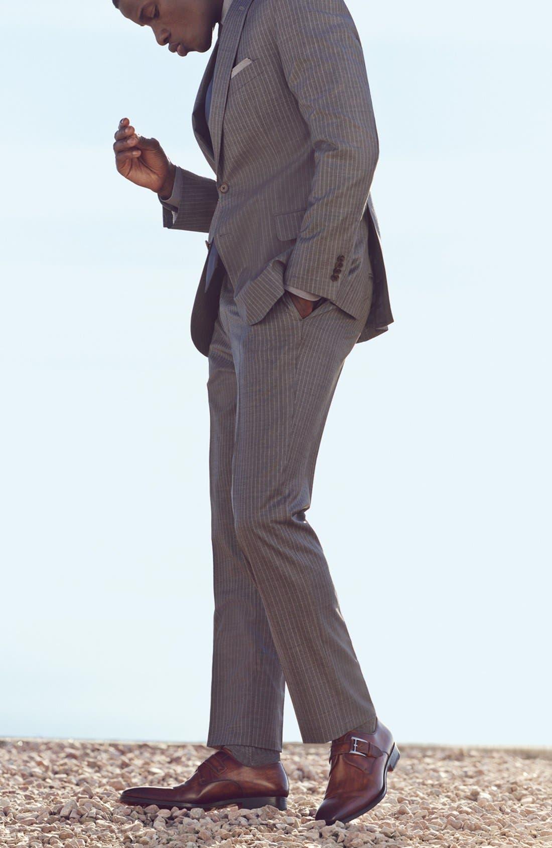 Alternate Image 5  - Magnanni Marco Monk Strap Loafer (Men)