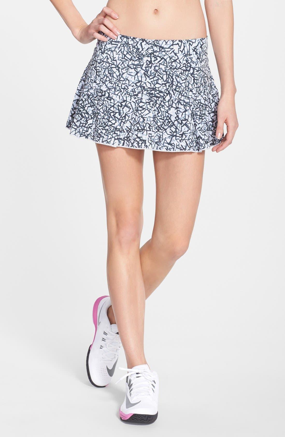 Alternate Image 1 Selected - Nike 'Victory' Print Tennis Skirt