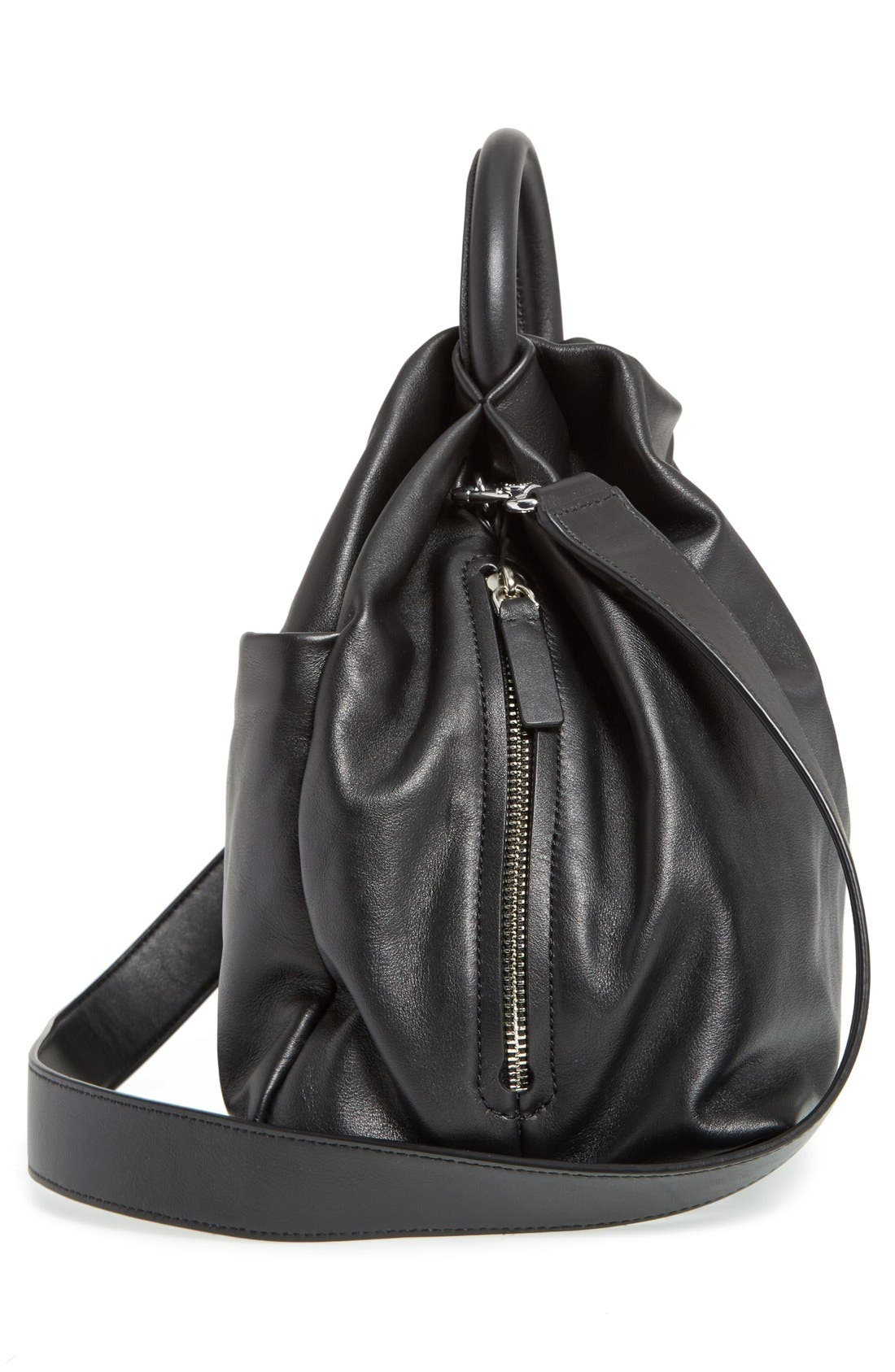 Alternate Image 5  - MARC BY MARC JACOBS 'Hanging Around' Leather Ring Tote
