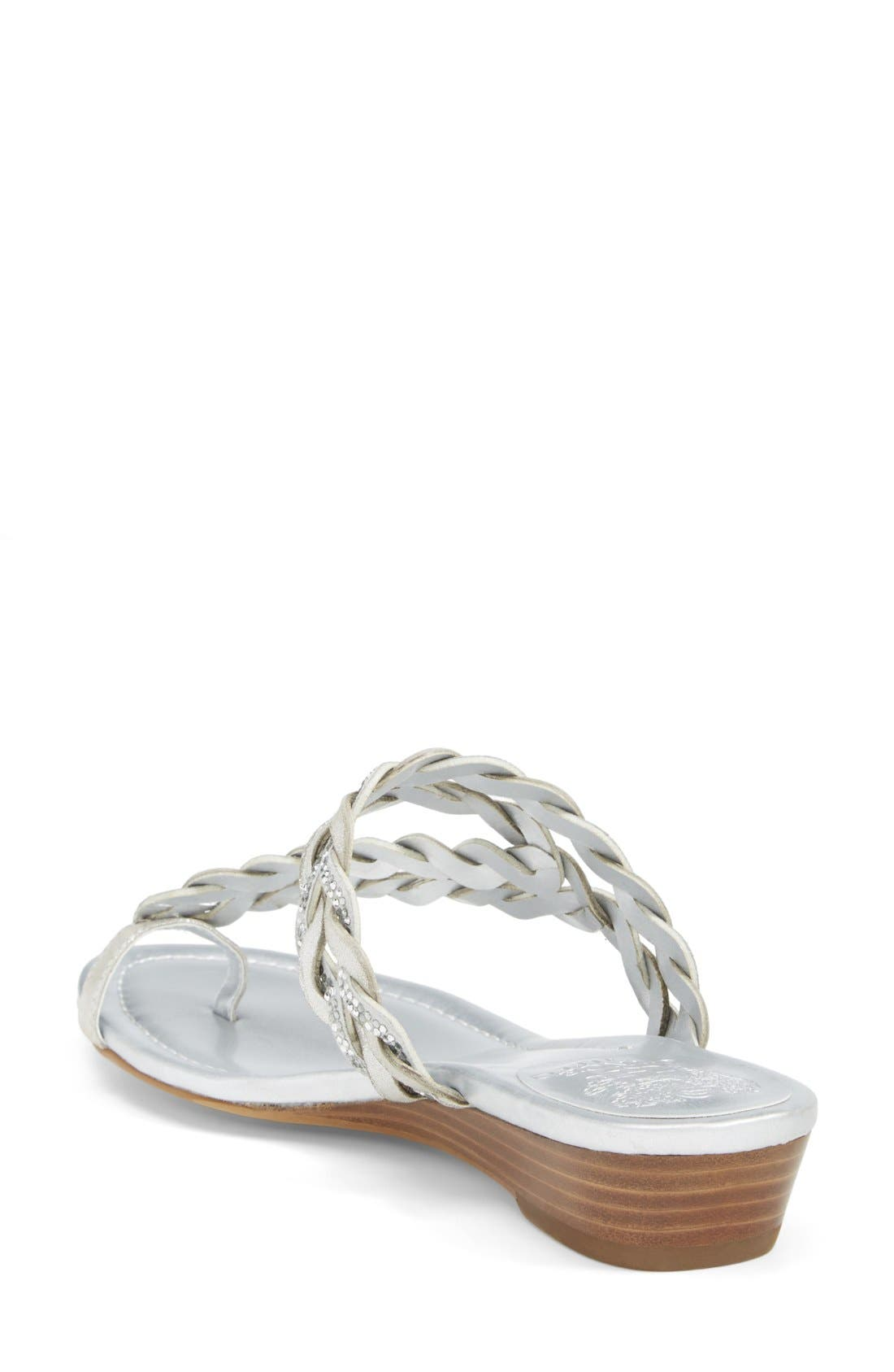 Alternate Image 2  - Vince Camuto 'Imora' Braided Thong Sandal (Women)