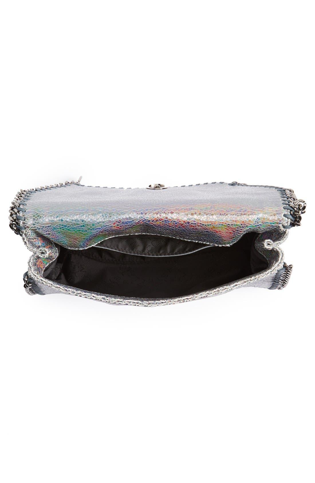Alternate Image 4  - Stella McCartney 'Mini Falabella - Hologram' Crossbody Bag
