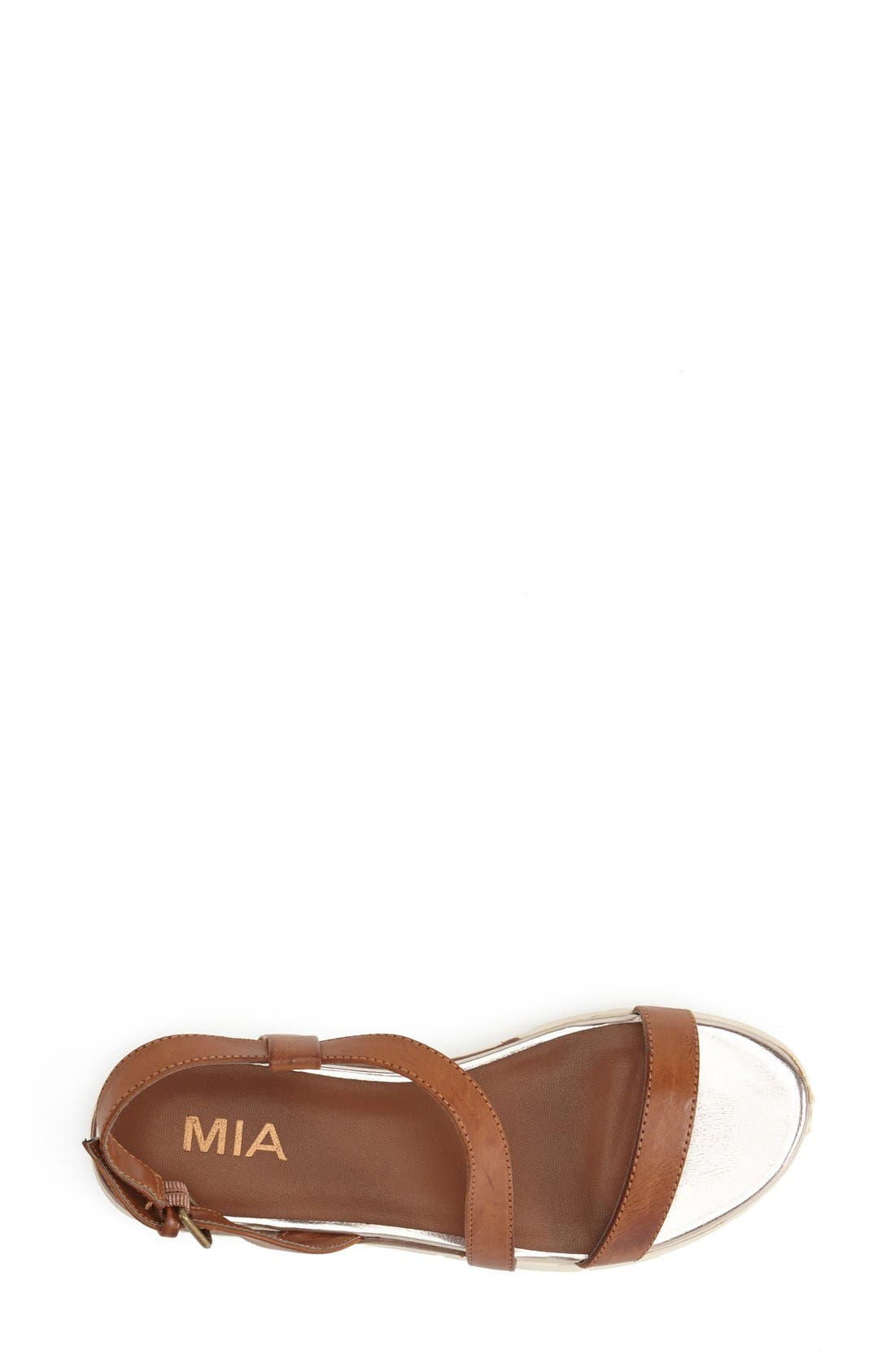 Alternate Image 3  - MIA 'Baseline' Slingback Flat Sandal (Women)