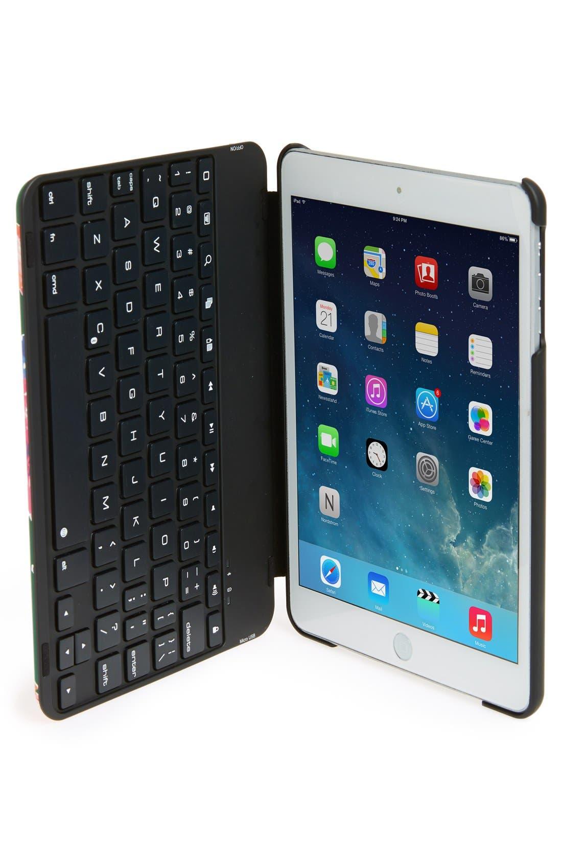 Alternate Image 2  - kate spade new york 'spring blooms' iPad Mini keyboard case