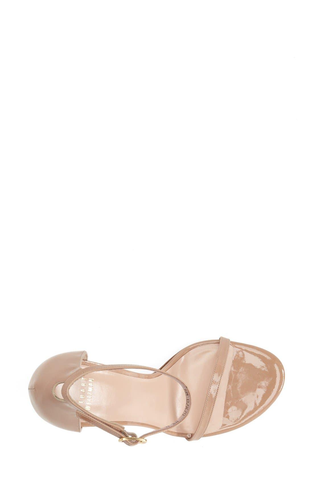 Alternate Image 3  - Stuart Weitzman Nudistsong Ankle Strap Sandal (Women)