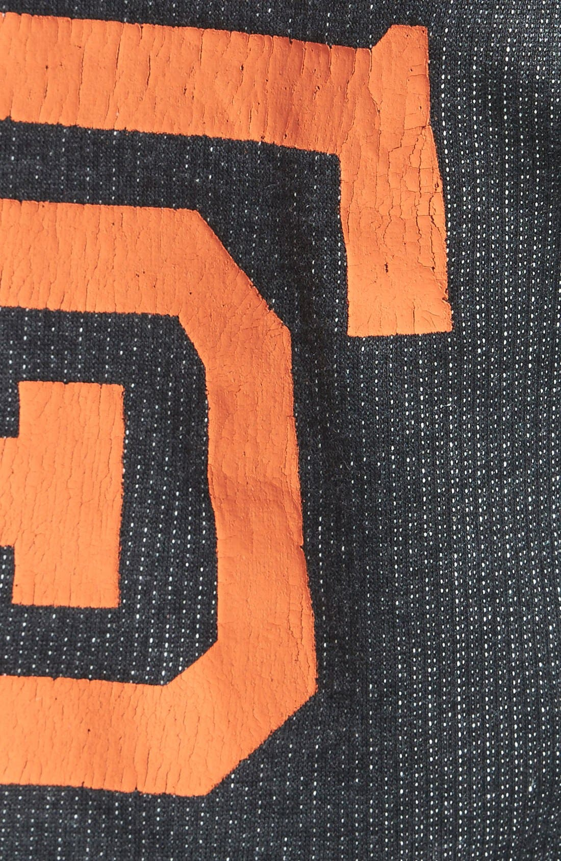 Alternate Image 3  - Red Jacket 'Giants - Field Day' Crop Sweatshirt (Juniors)