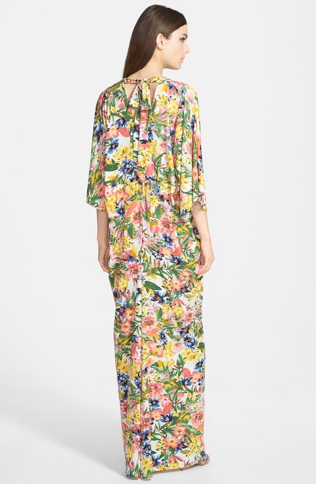 Alternate Image 2  - Filtre Print Kimono Maxi Dress