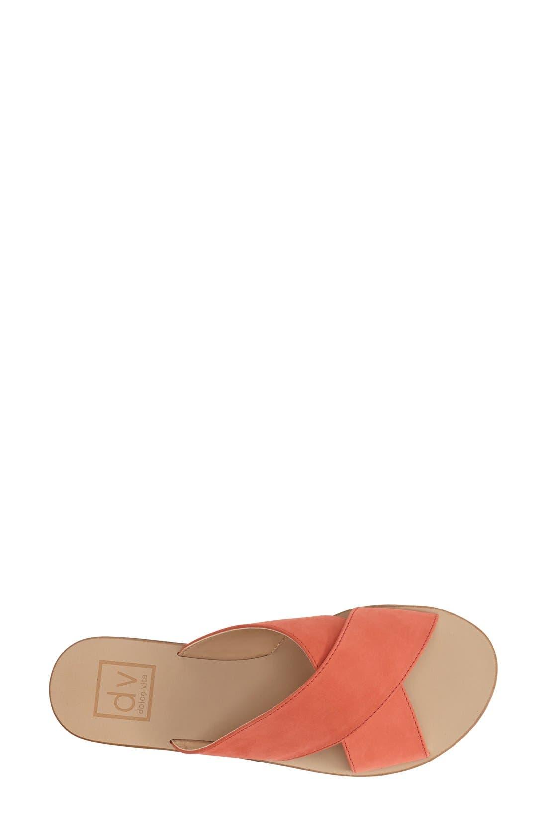 Alternate Image 3  - DV by Dolce Vita 'Orra' Crossover Strap Flat Sandal (Women)