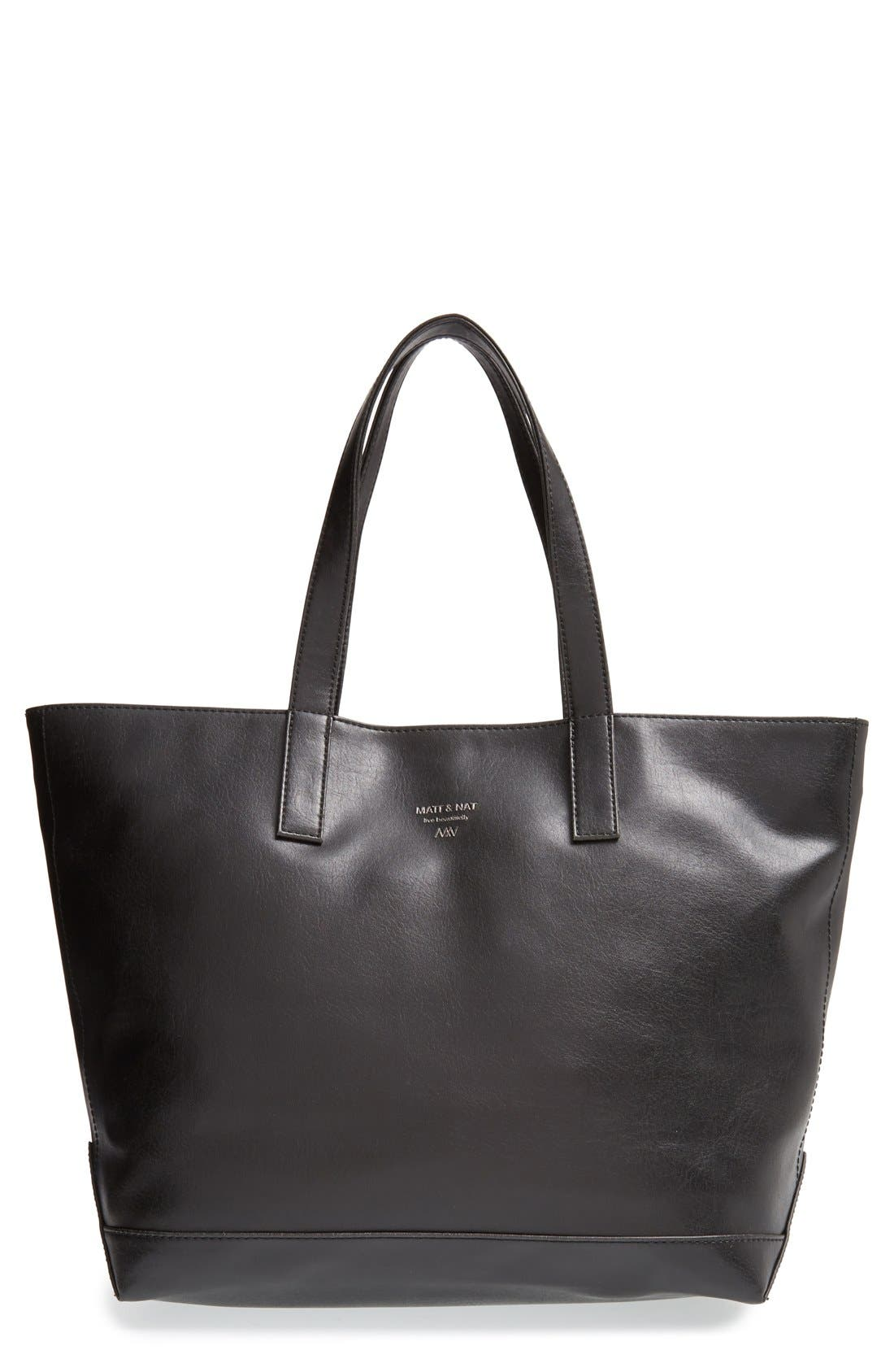 Alternate Image 1 Selected - Matt & Nat 'Schlepp' Vegan Leather Tote