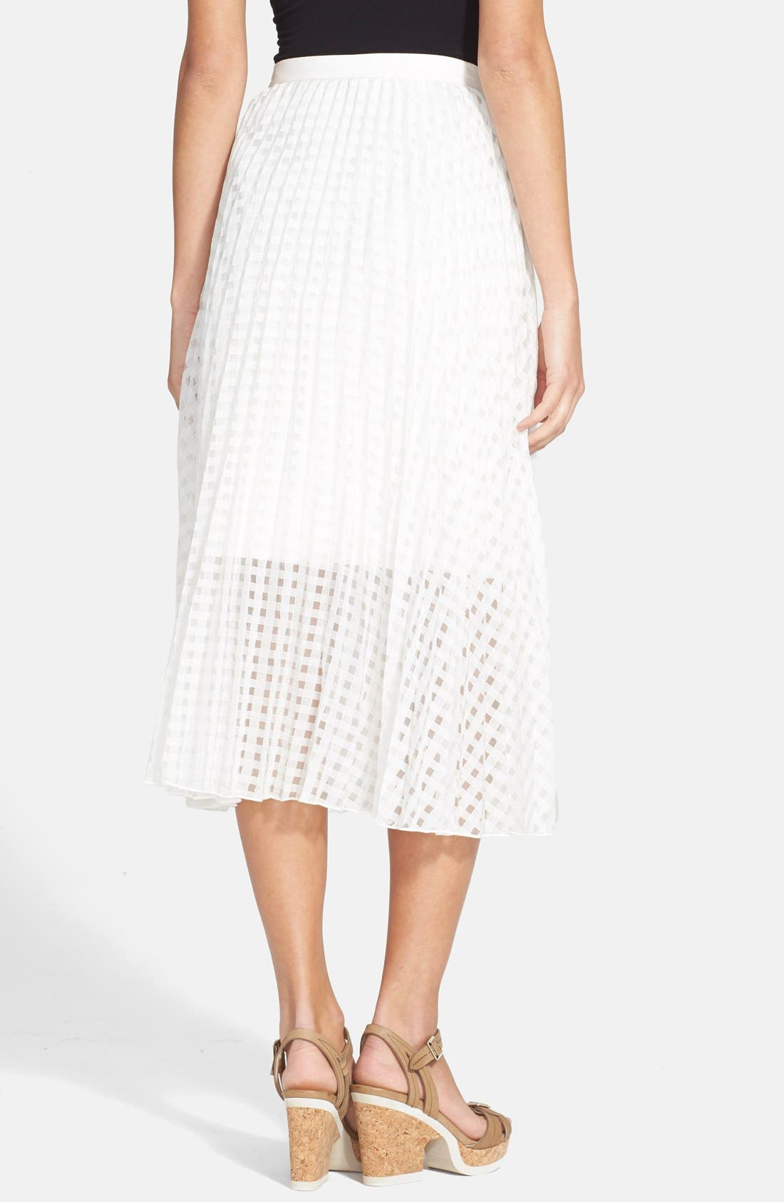Alternate Image 2  - Tibi 'Sunray' Pleated Skirt