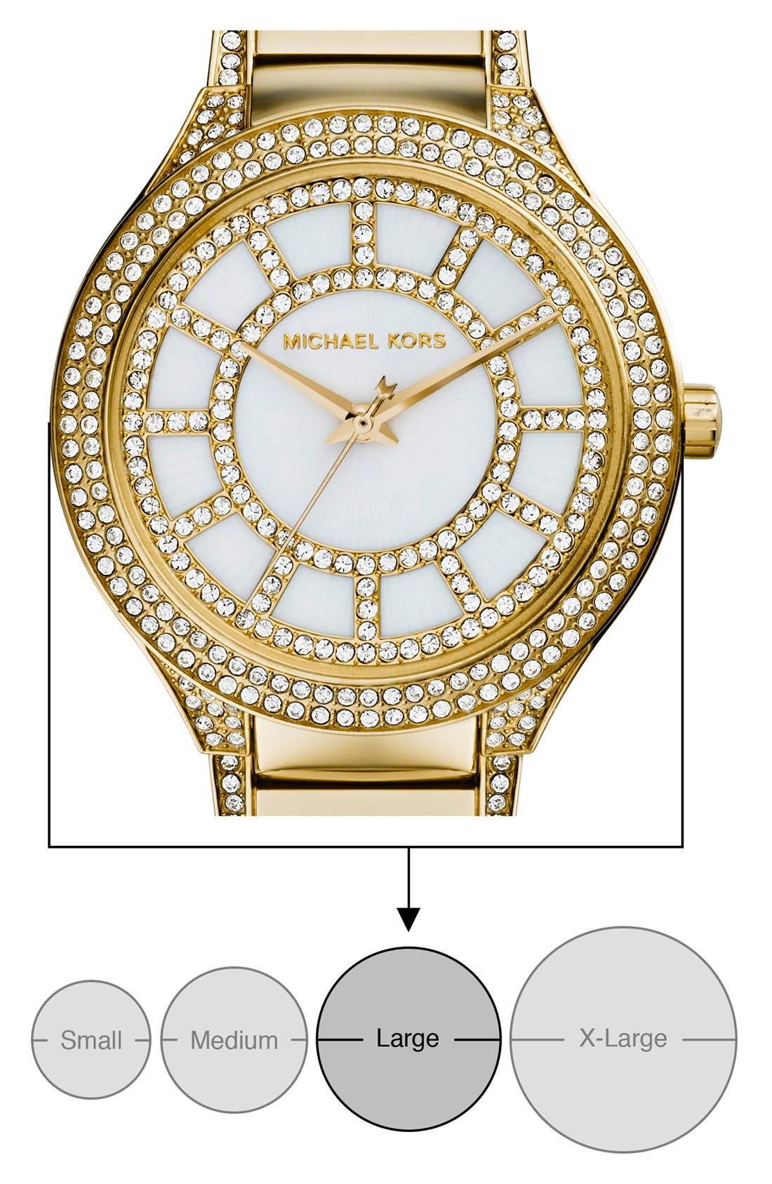 Alternate Image 4  - Michael Kors 'Kerry' Crystal Accent Bracelet Watch, 38mm