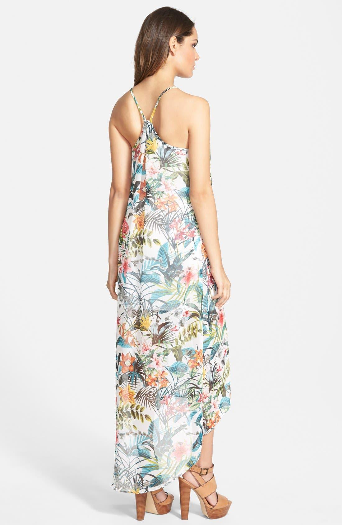 Alternate Image 2  - Wayf Pleated Maxi Dress