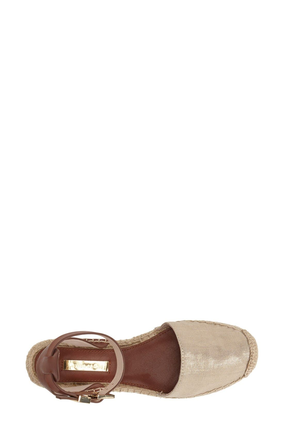 Alternate Image 3  - Louise et Cie 'Frida' Ankle Strap Espadrille Flat (Women)